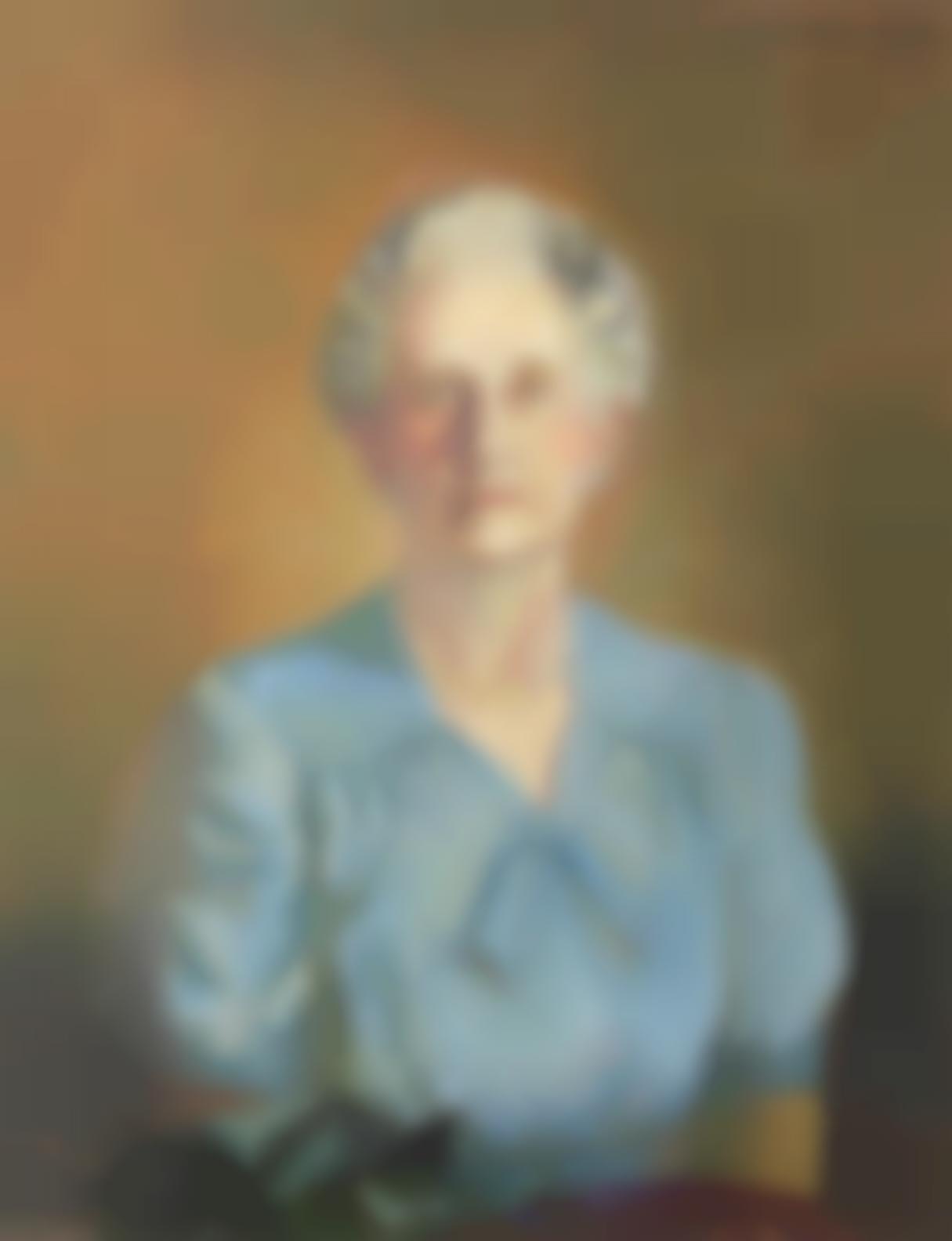 George Milwa Mnyaluza Pemba - Portrait Of Mrs May Murray Parker-1947