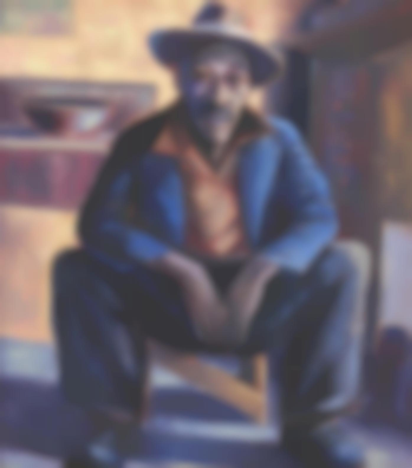 Gerard Sekoto - Portrait Of A Man (Lentswana)-