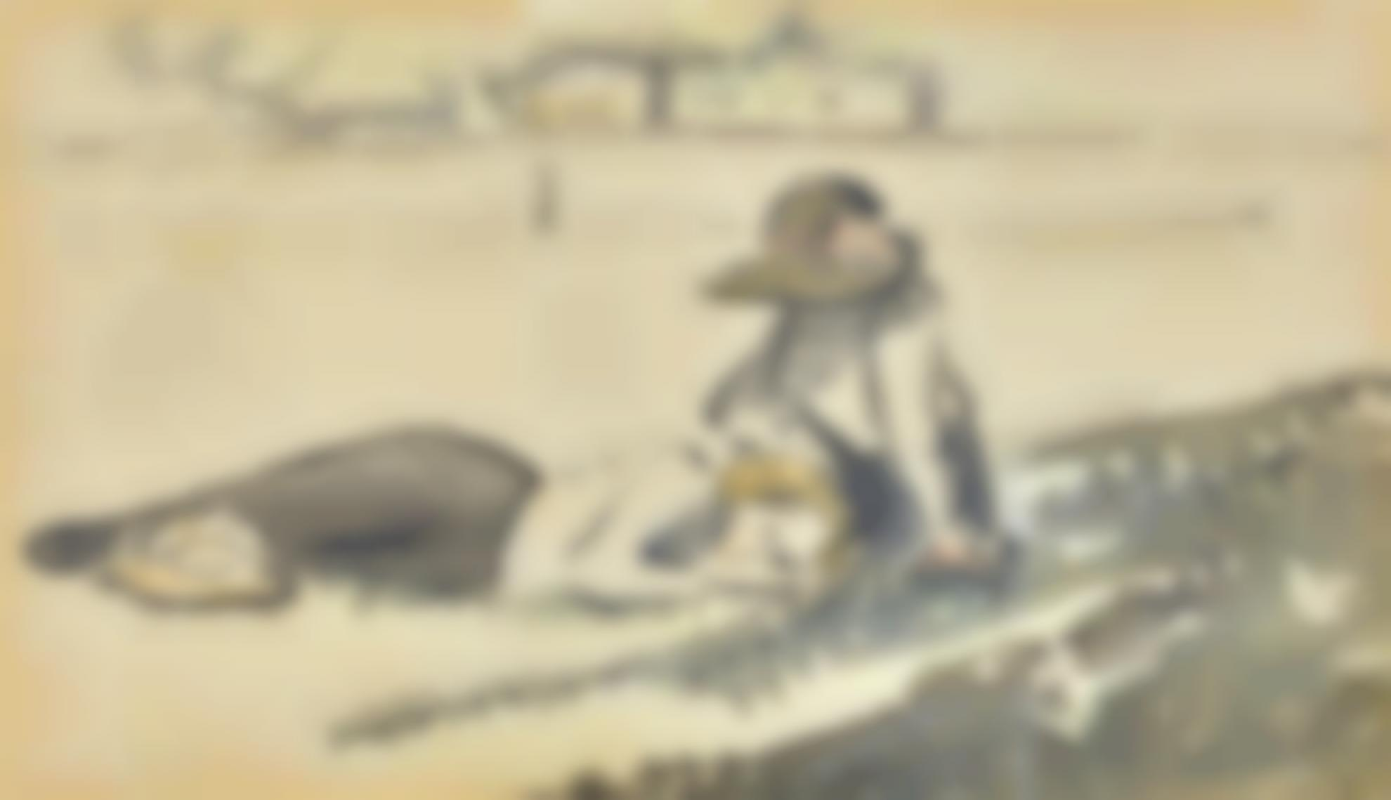 Lucien Pissarro-An Afternoon Rest-