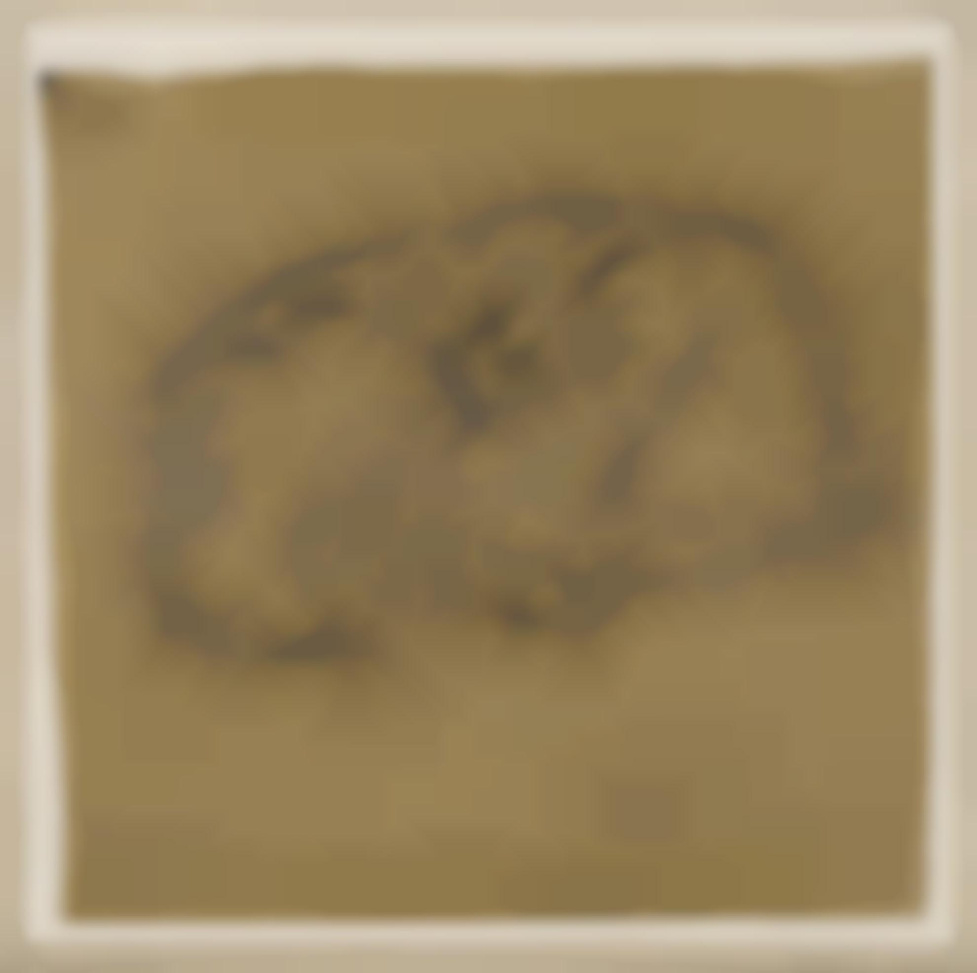 Gwen John-Sleeping Tortoise-Shell Cat-1908