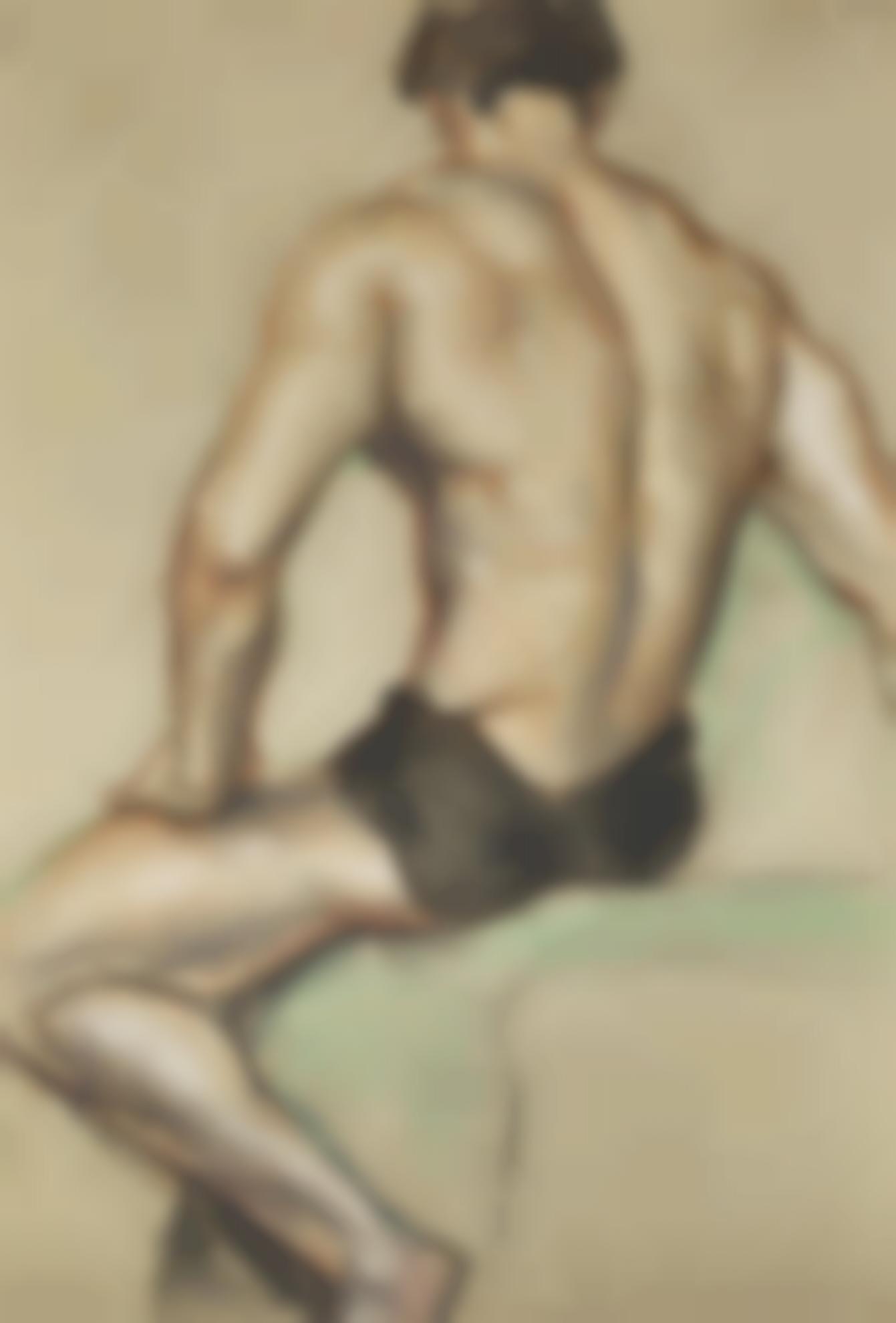 Austin Osman Spare-Life Study-1950
