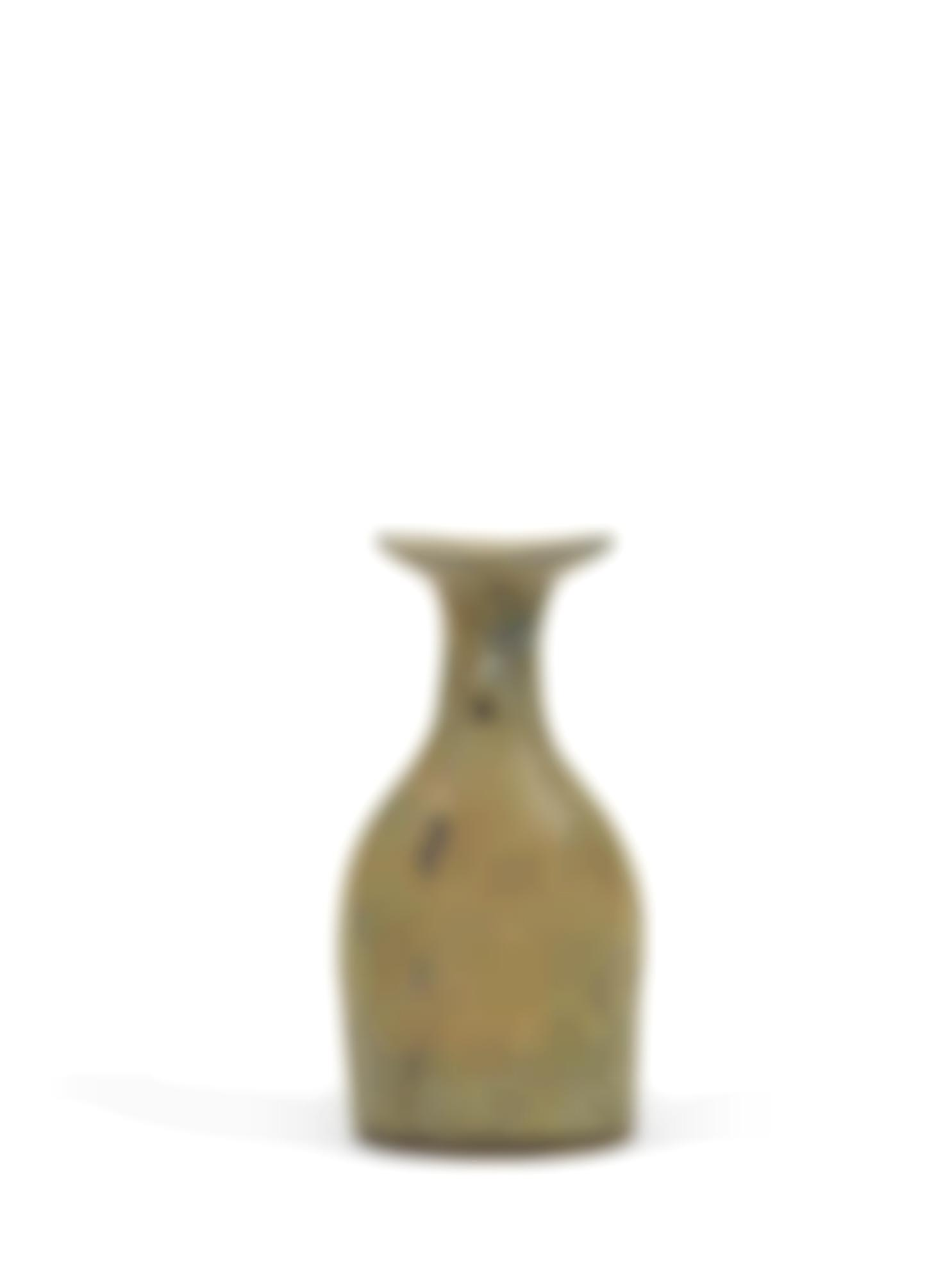 Dame Lucie Rie - Small Bottle Vase-1970