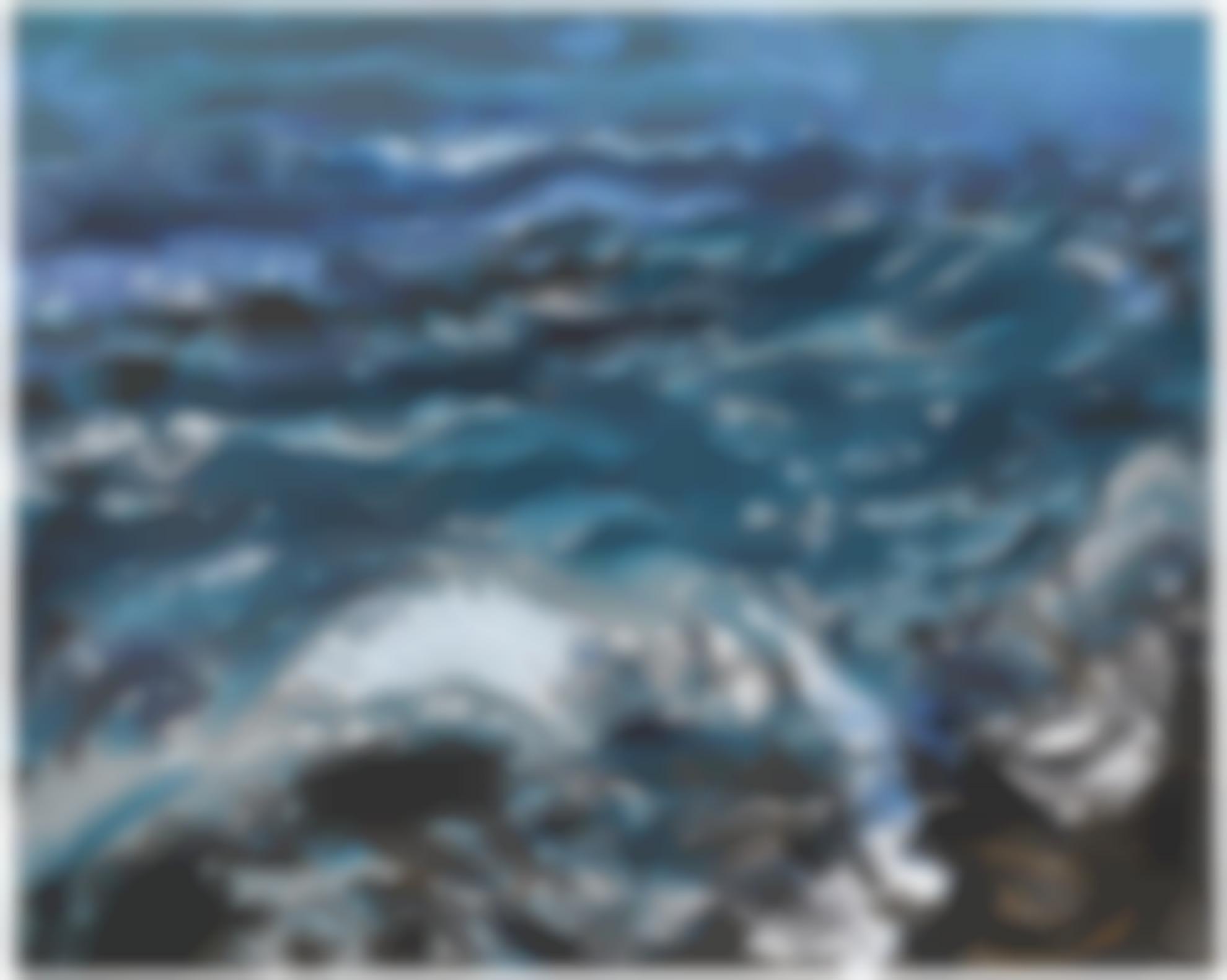 Maggi Hambling-High Summer Sea-2006