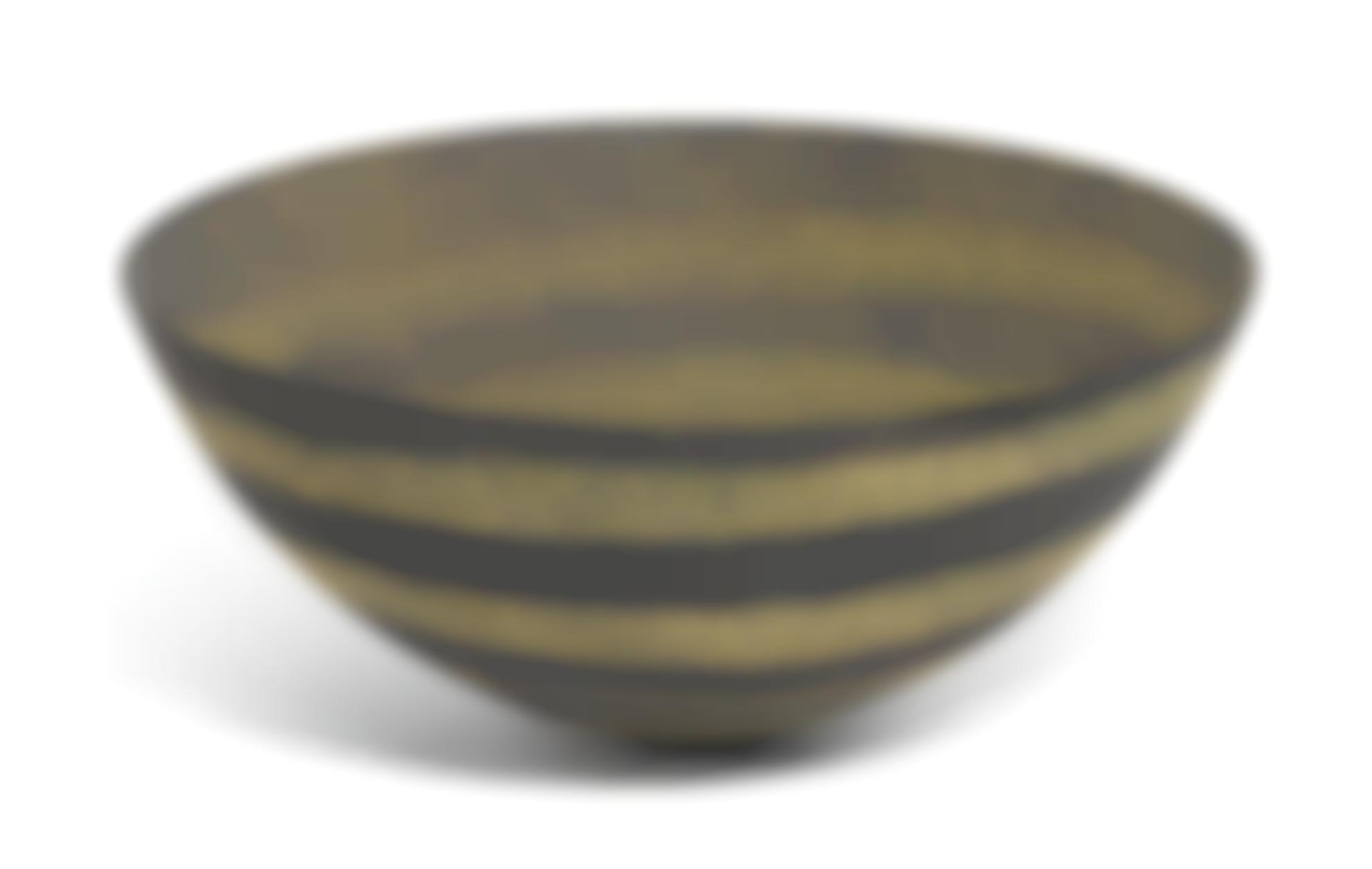 Jennifer Lee-Dark, Four Lichen Speckled Stripes-1990