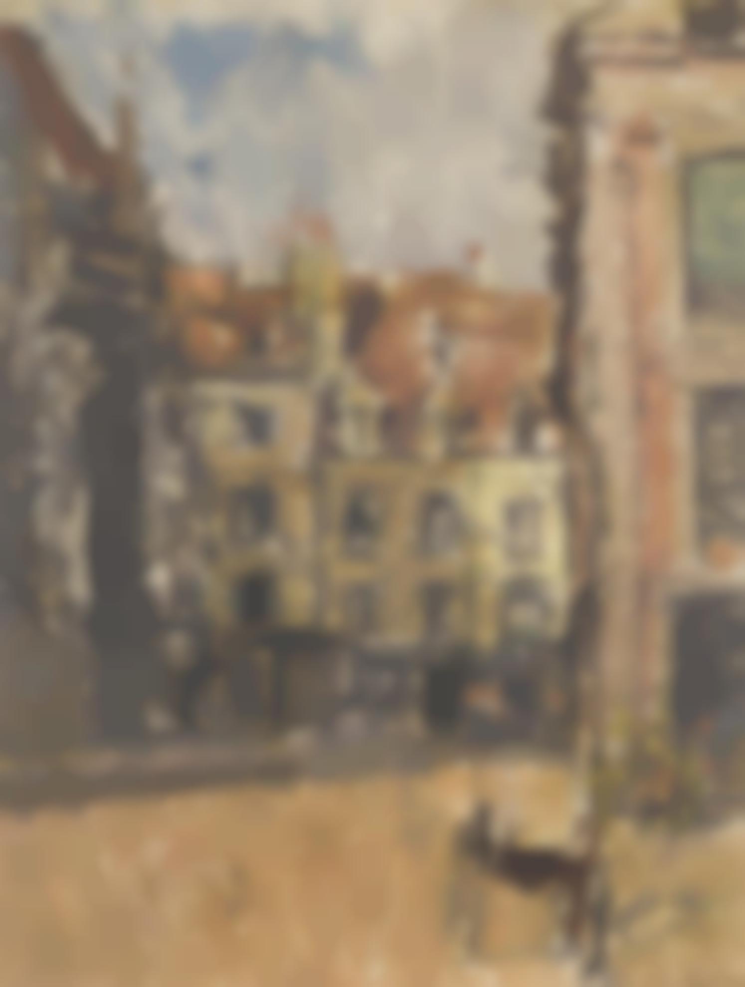 Walter Richard Sickert-Dieppe Coin De La Rue St Catherine-1905