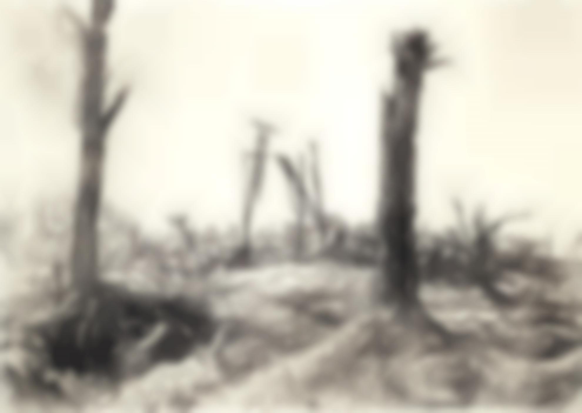 Muirhead Bone-The Orangery Of Deniecourt Chateau, Near Peronne-1917