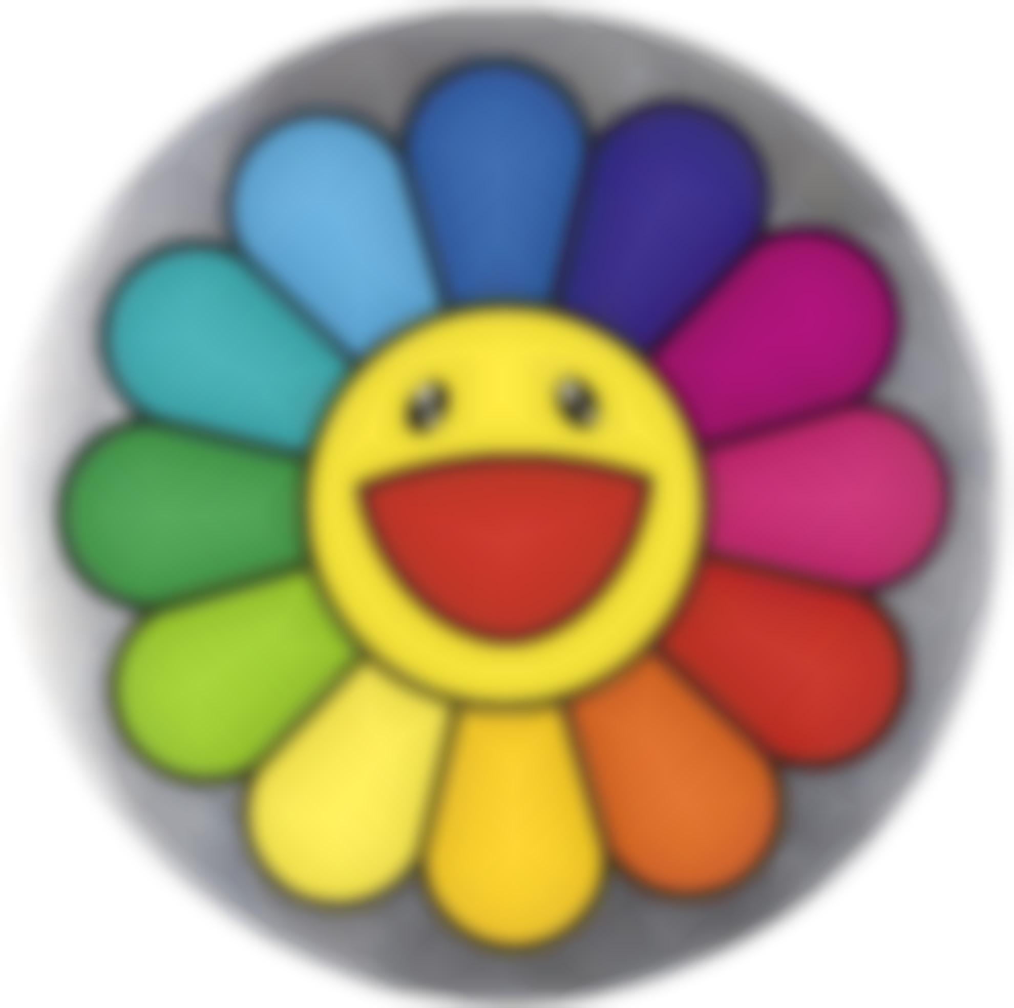 Takashi Murakami-Rainbow Flower - 7 Oclock-2007