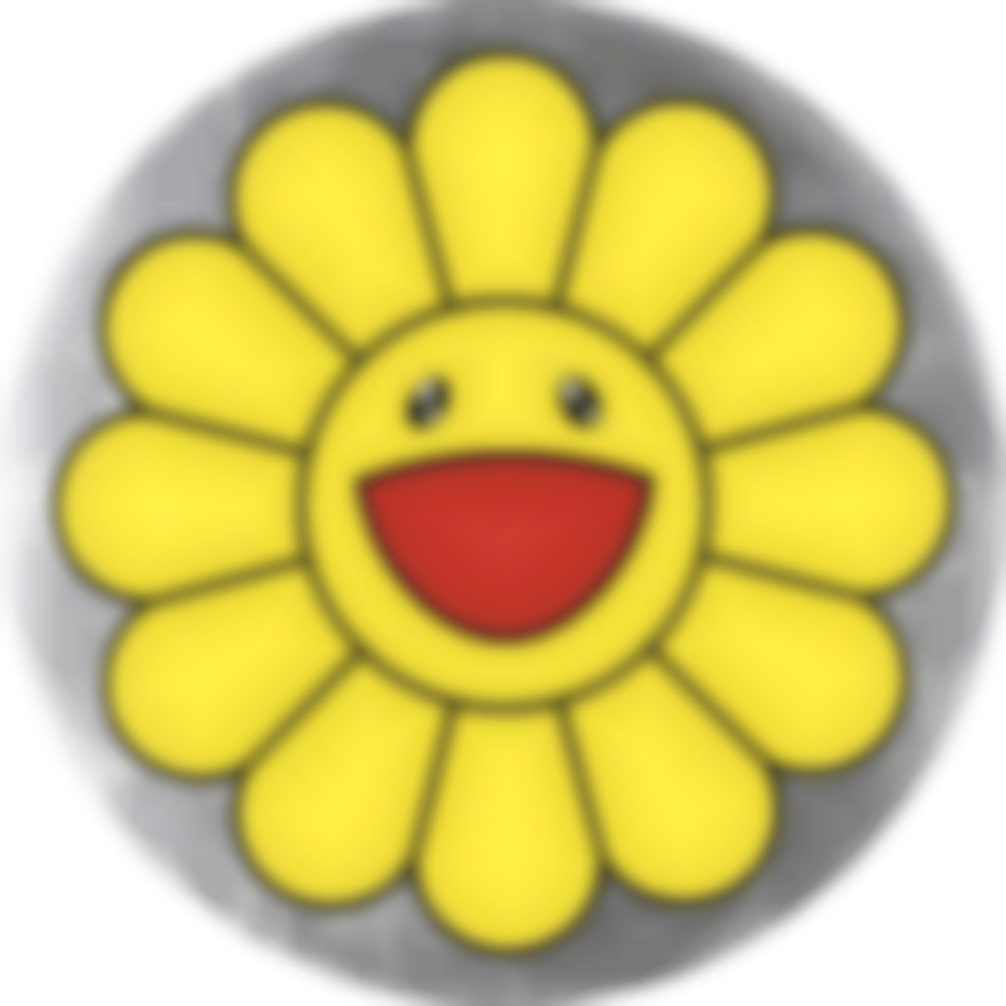 Takashi Murakami-Flower Of Joy - Yellow-2007