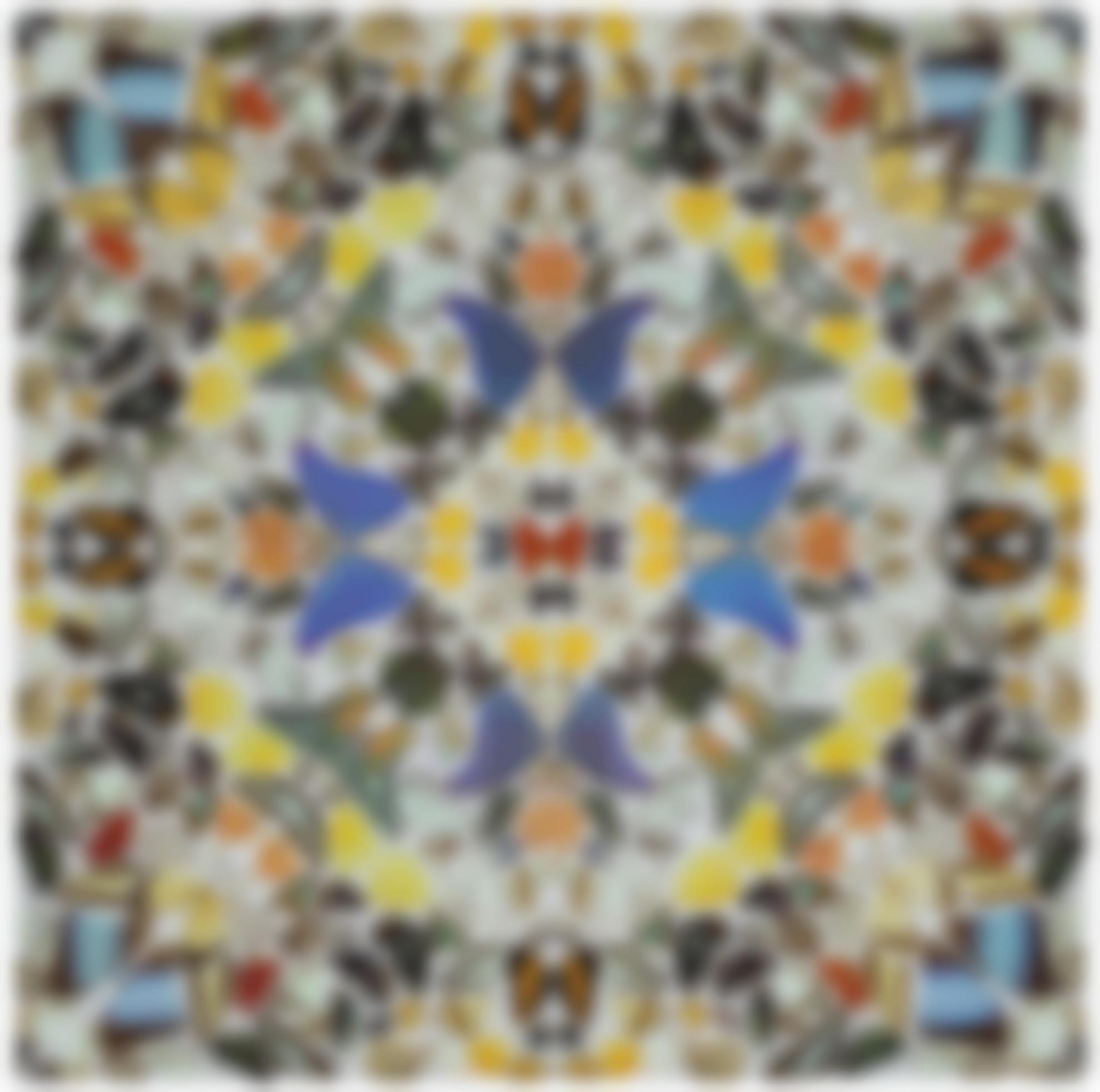 Damien Hirst-Kaleidoscope VI-2004
