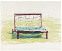 David Hockney-Chair-1976
