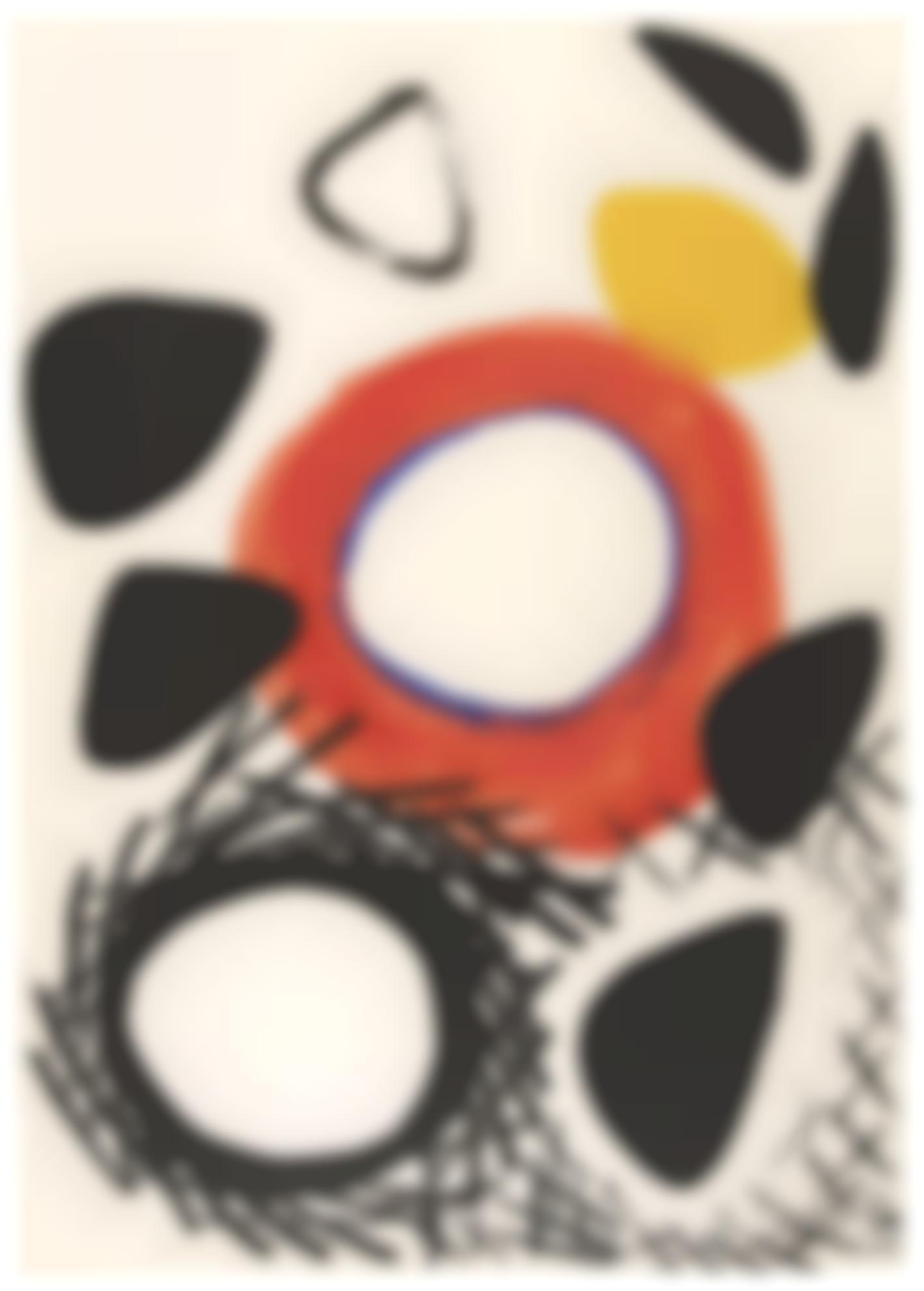Alexander Calder-The Nest Of The Egg-1960