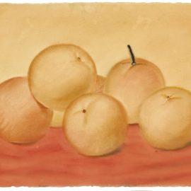 Fernando Botero-Still Life With Oranges-1979