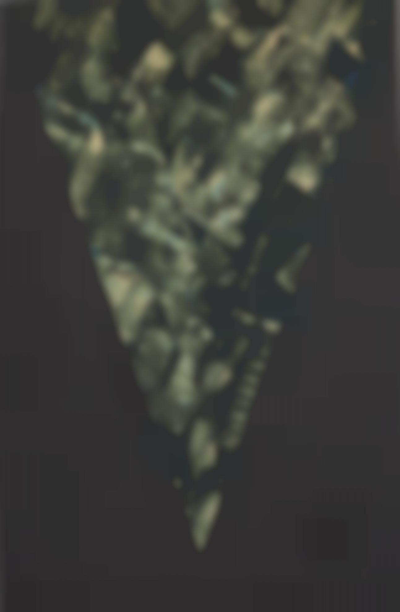 Kenneth Noland-Dark Fires-1986