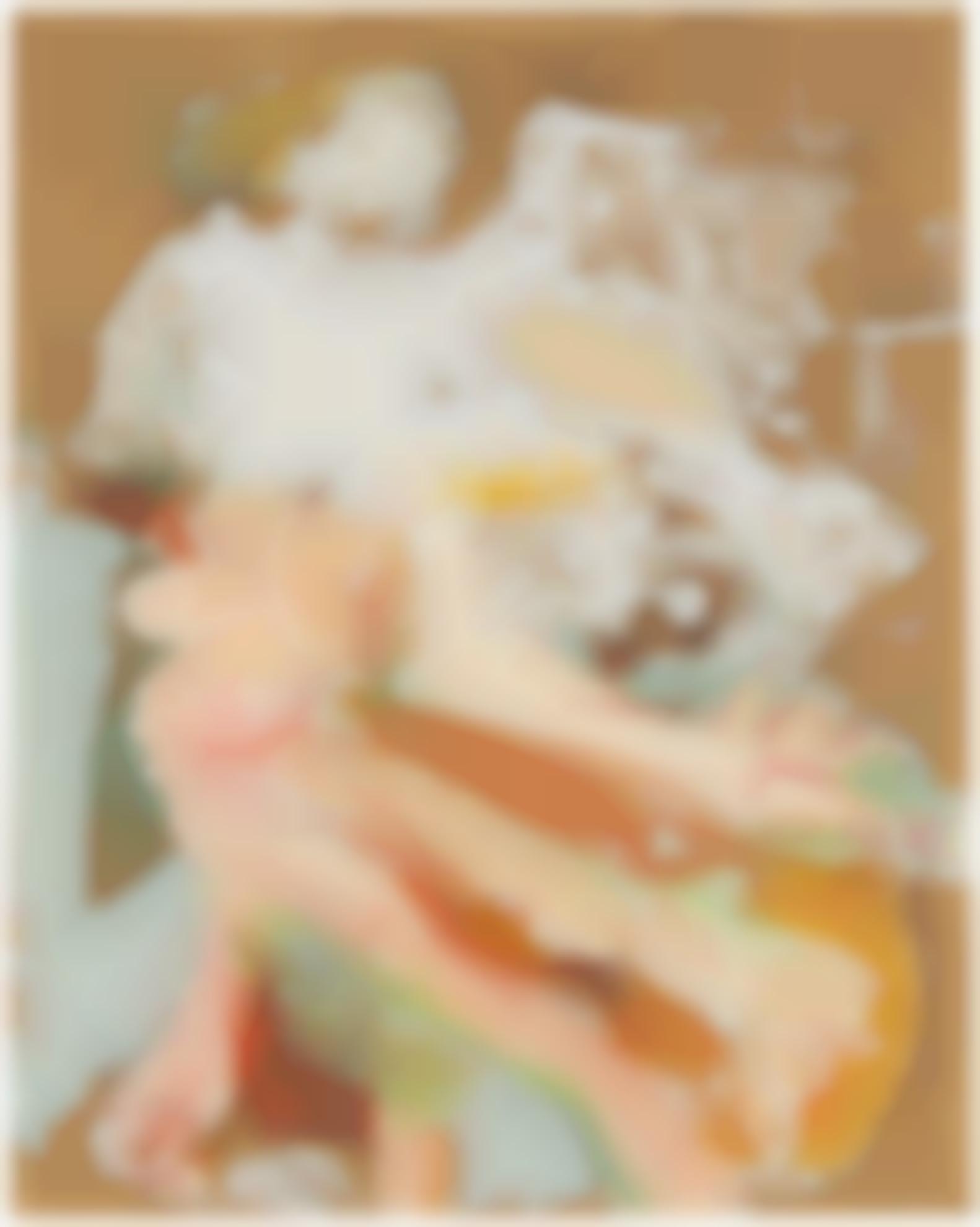 Willem de Kooning-Untitled (Floating Woman)-1962