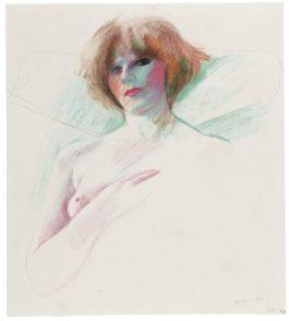 David Hockney-Marinka-1977