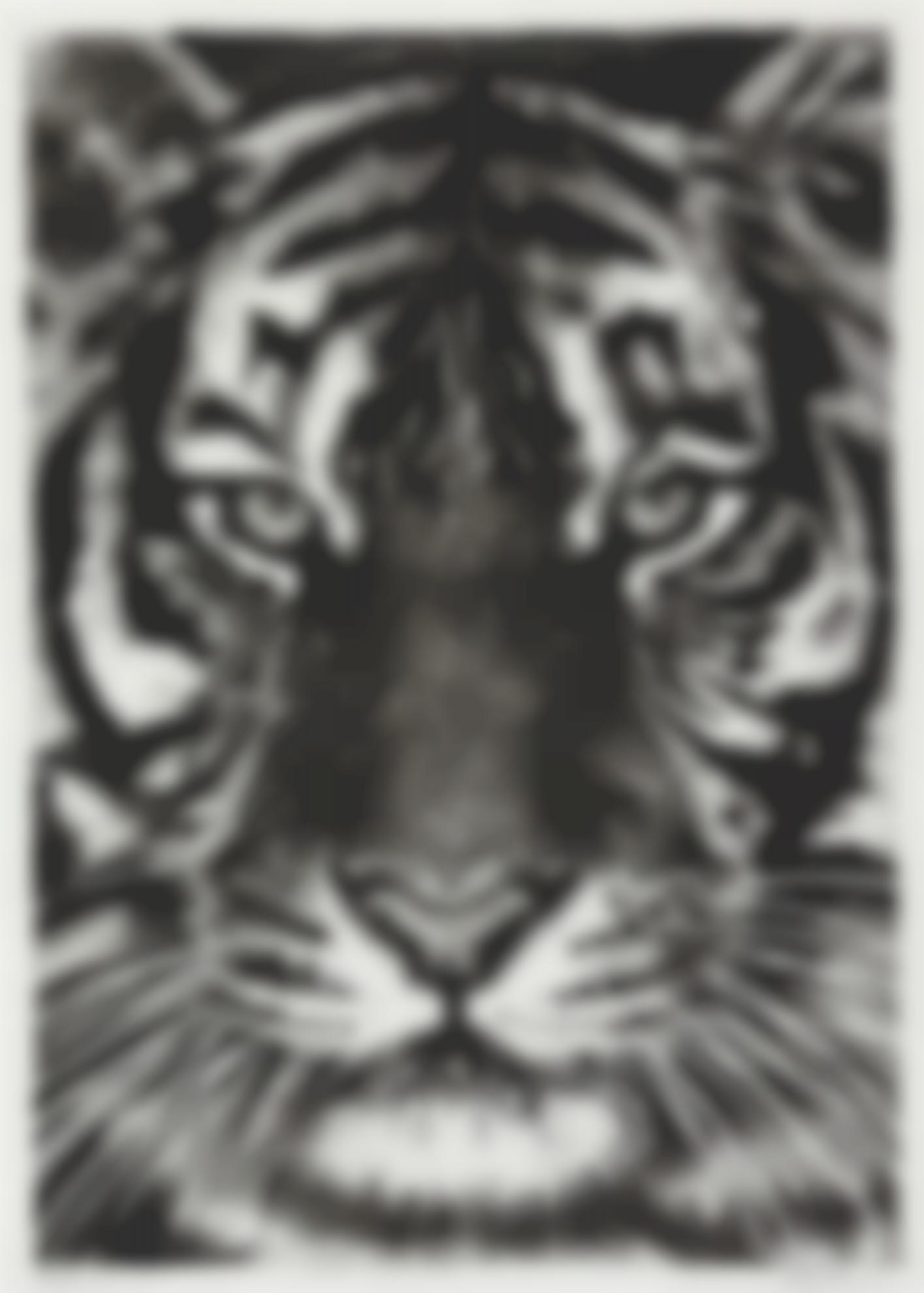 Robert Longo-Tiger Head 5B-2010