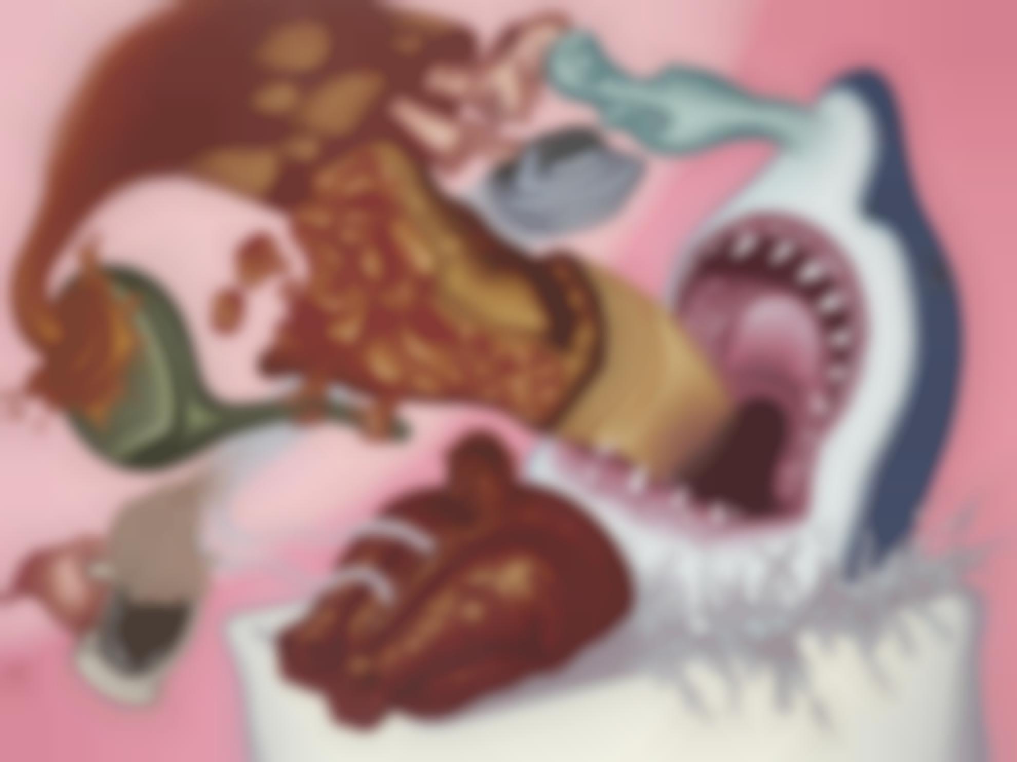 Peter Saul-Shark In My Bathtub-2011