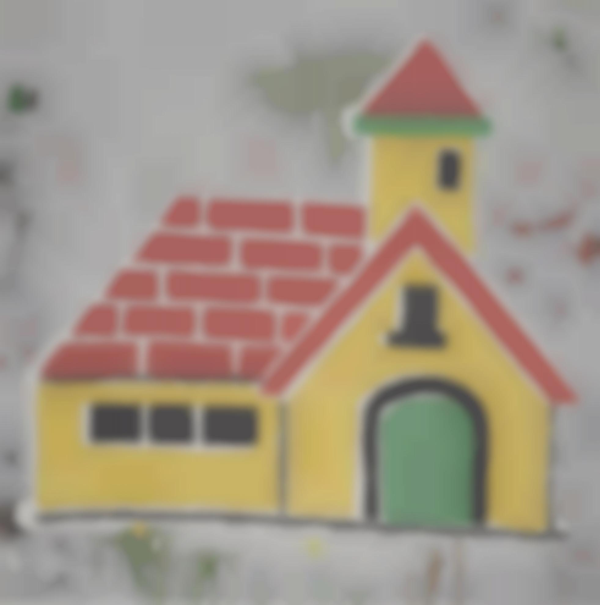 Donald Baechler-Home Sweet Home-1999