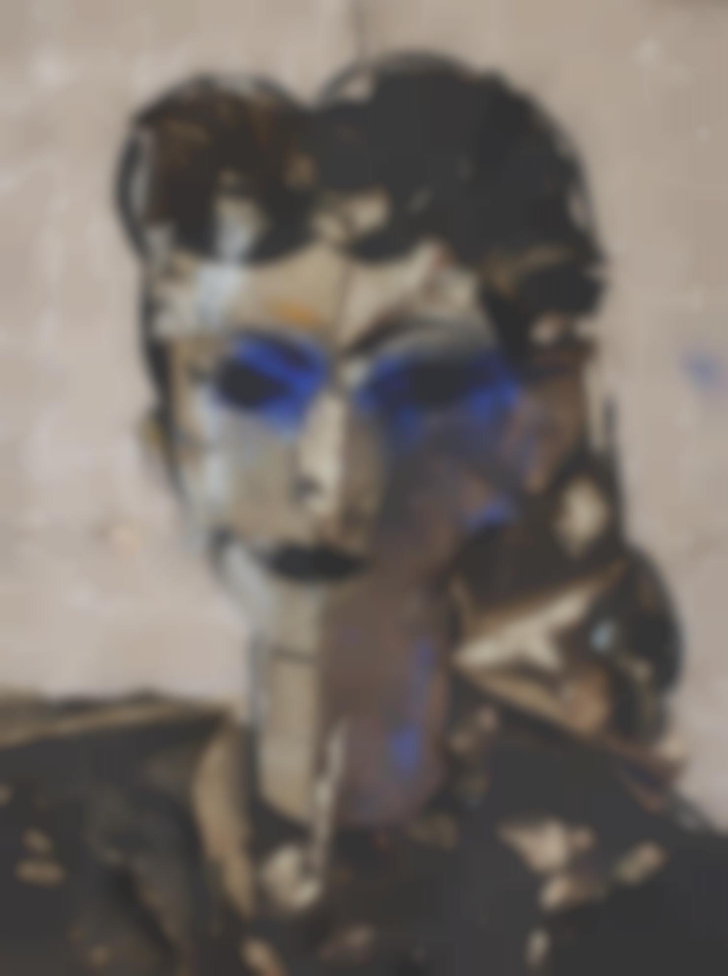 Manolo Valdes-Retrato De Dama-2011