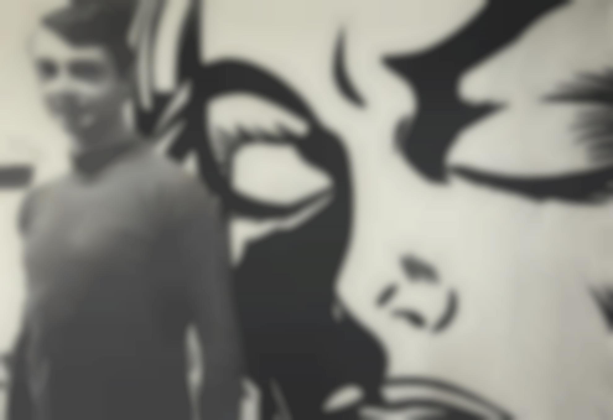 Dennis Hopper-Roy Lichtenstein In His Studio 1964-2009