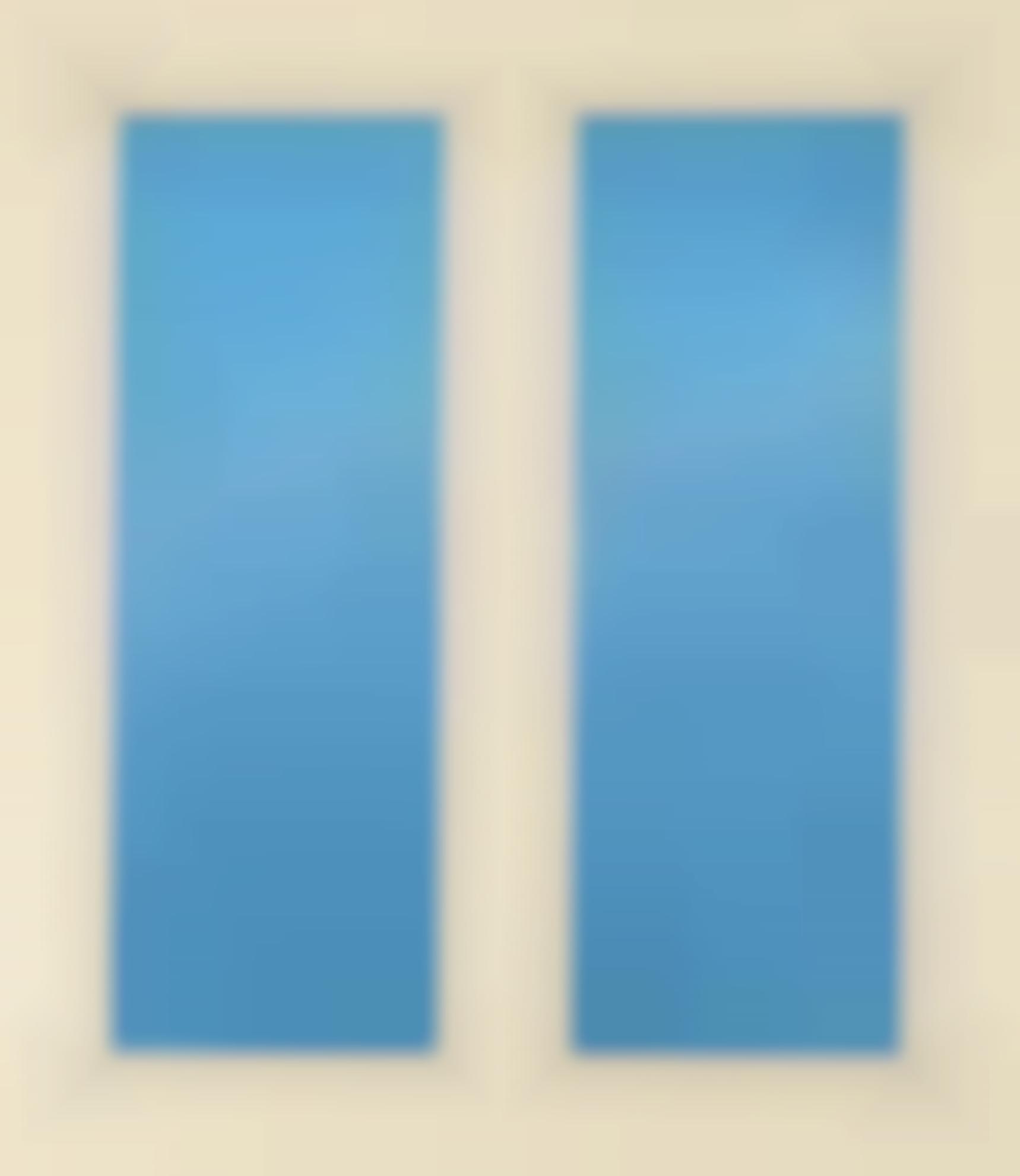 Ugo Rondinone-Clockwork For Oracles (Dark Blue)-2002