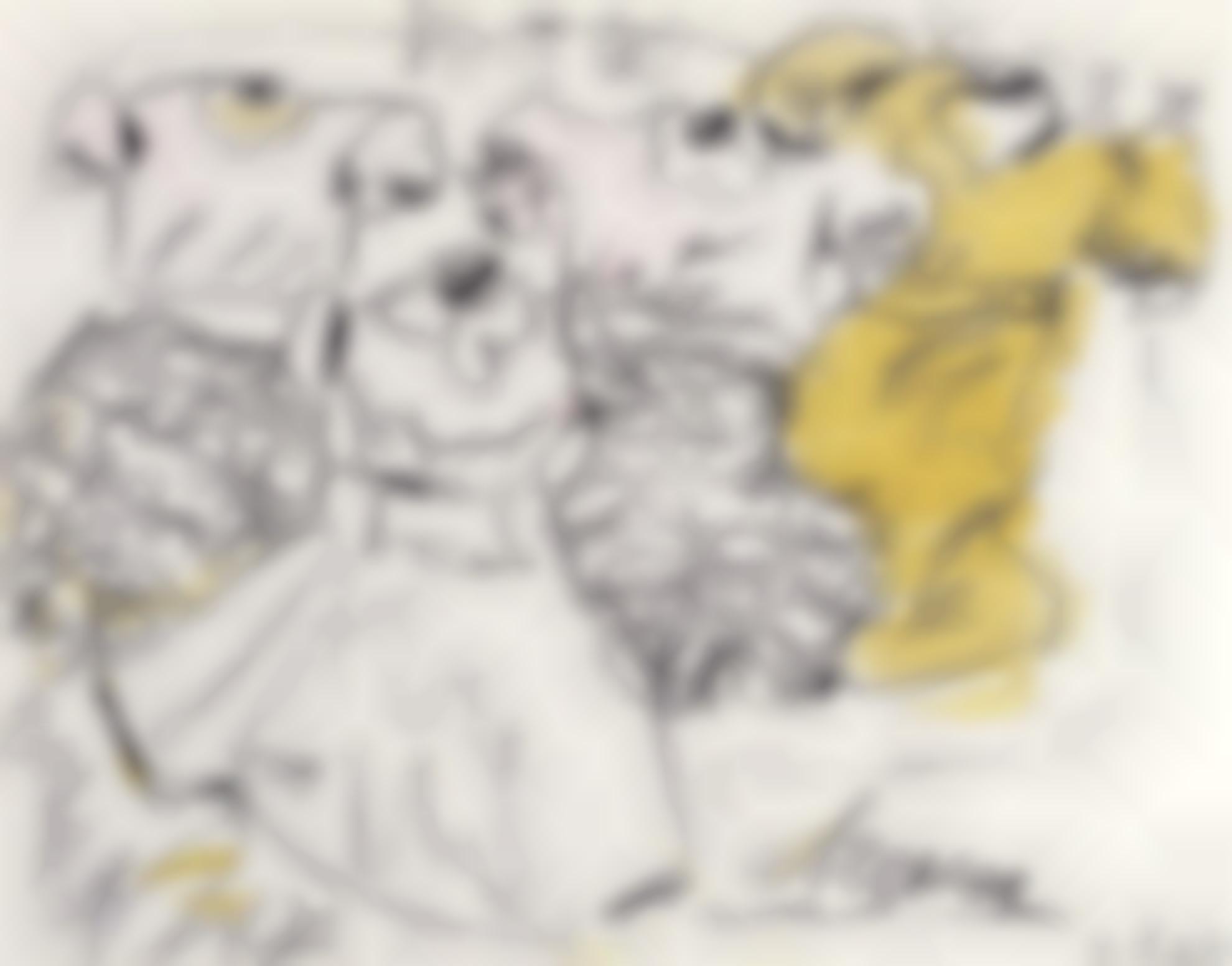 Claes Oldenburg-New York Dresses-1963