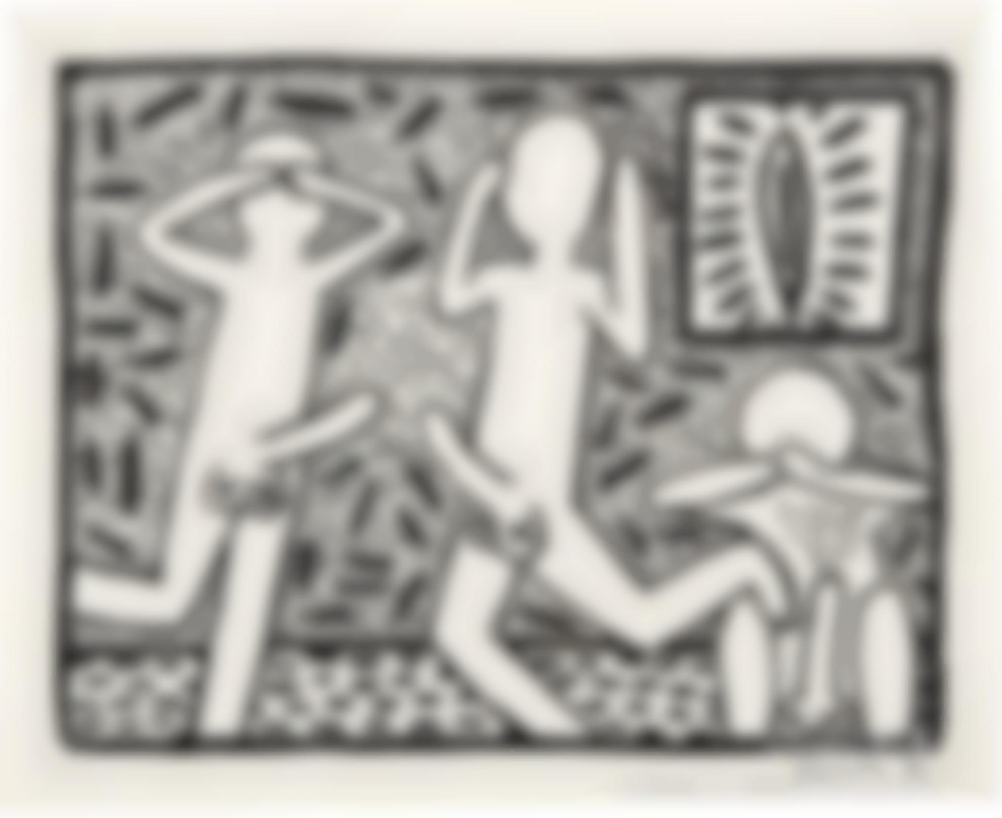 Keith Haring-Untitled-1982