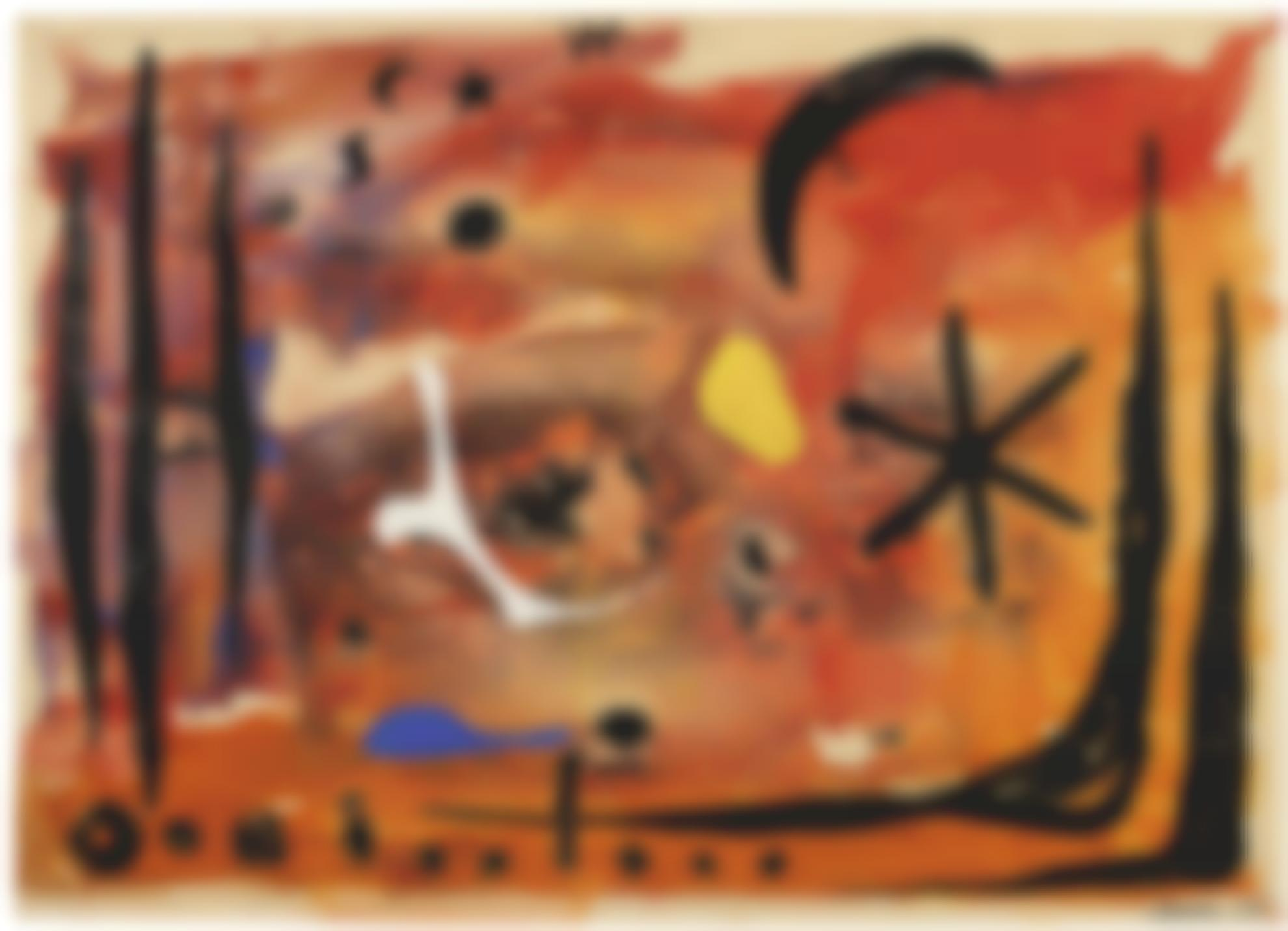 Alexander Calder-The Black Star-1953
