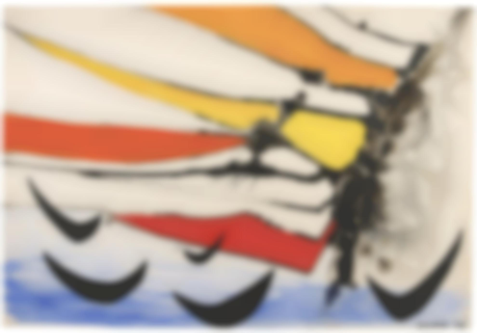 Alexander Calder-The Black Boomerangs-1953