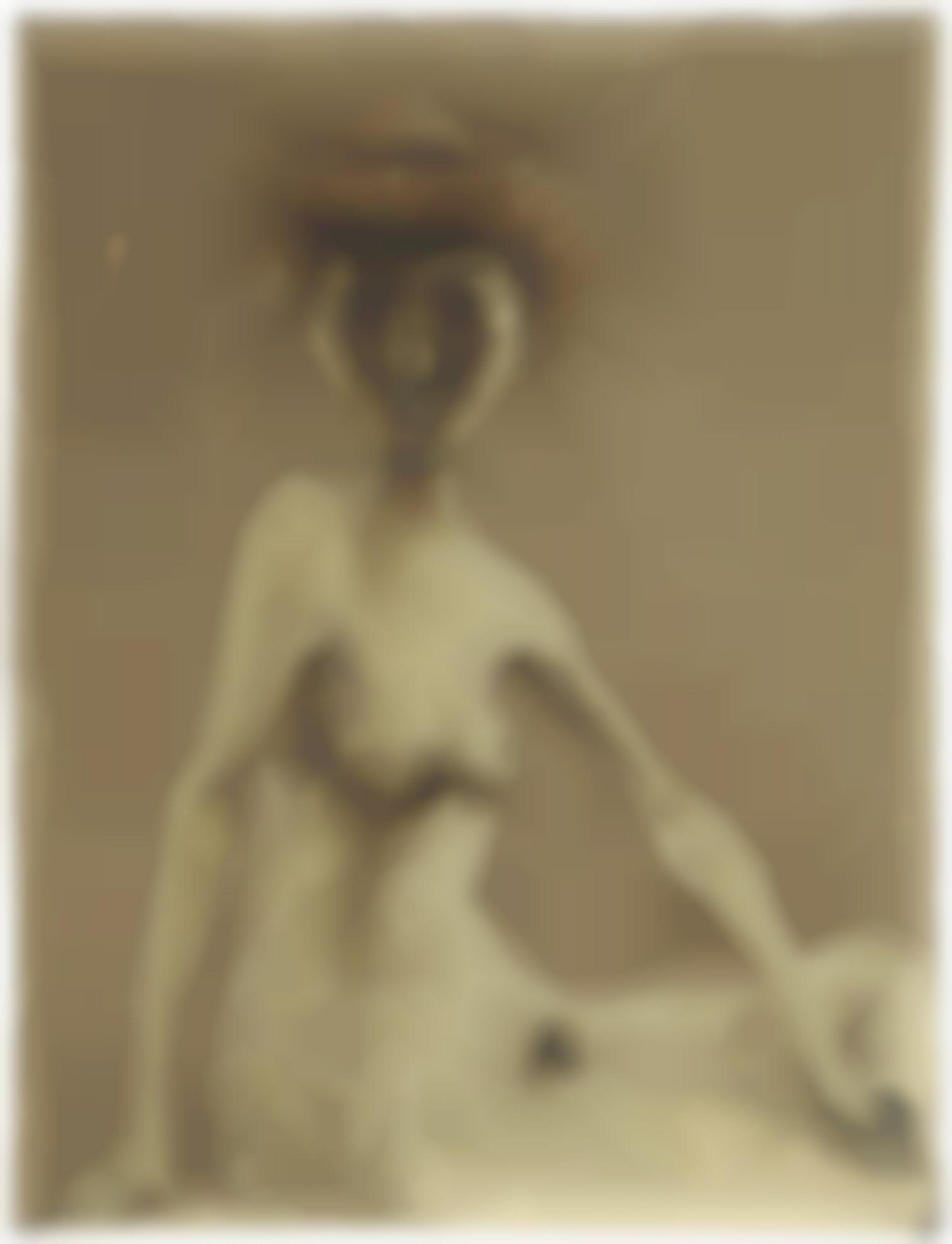 Mark Rothkowitz - Untitled (Nude)-1939