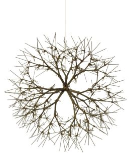 Ruth Asawa-Untitled (S.371, Hanging Tied-Wire, Closed-Center, Multi-Branched Form Based On Nature)-1965