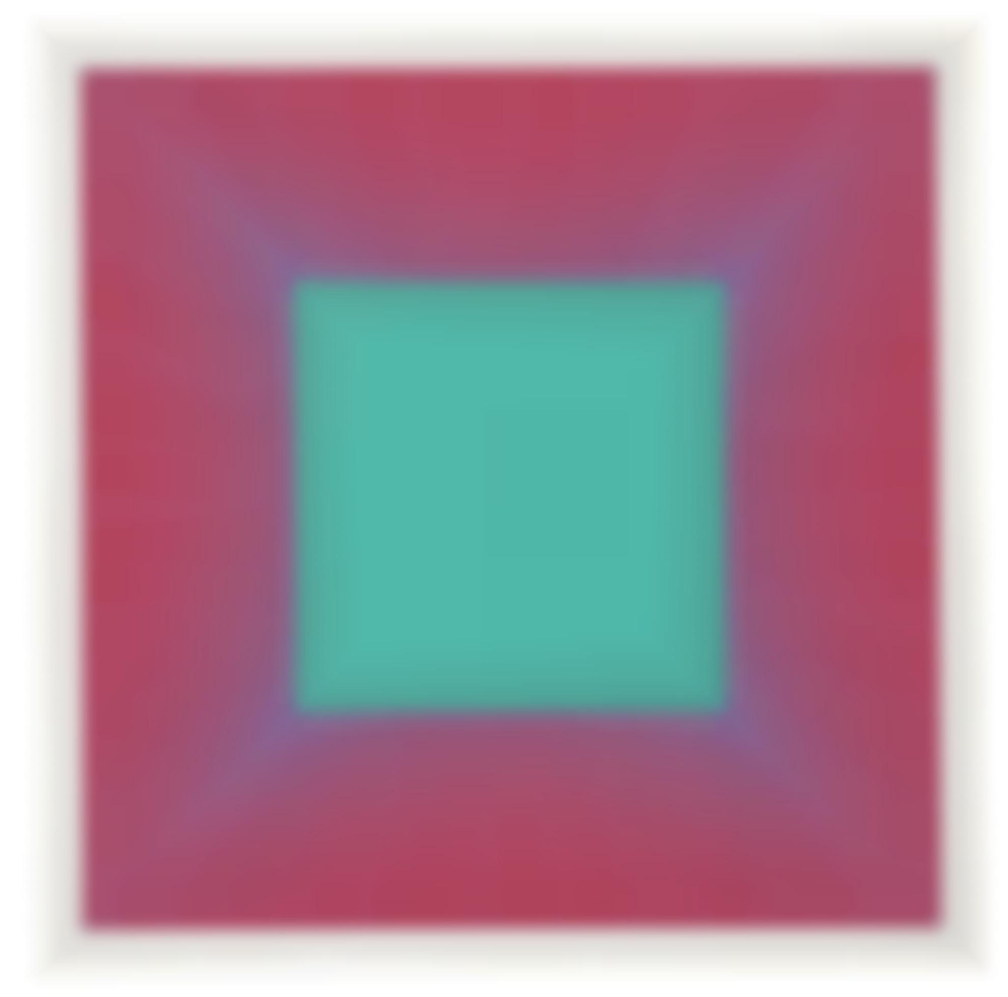Richard Anuszkiewicz-Deep Emerald Square-1979