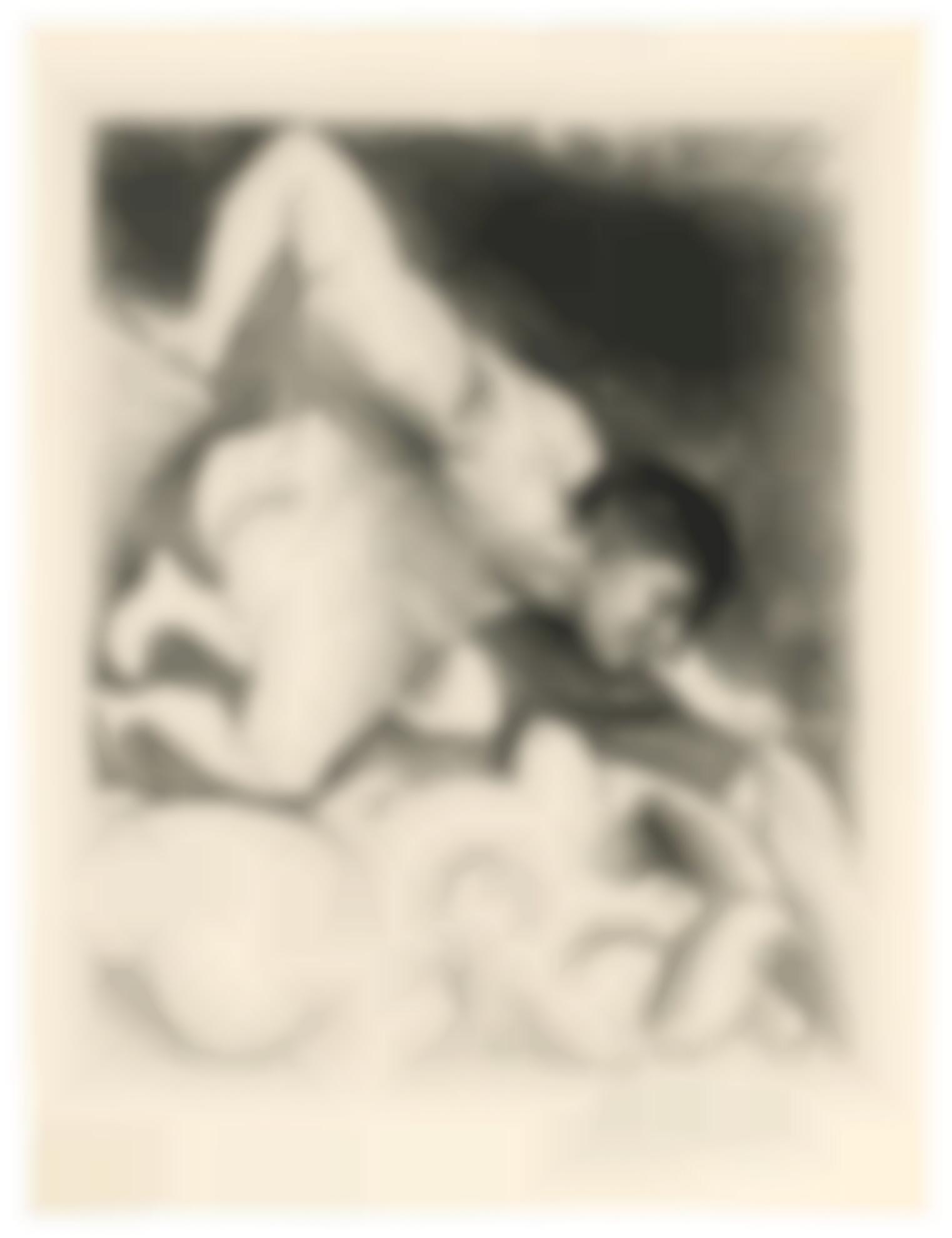 Pablo Picasso-Homme Devoilant Une Femme (B. 138; Ba. 203)-1931