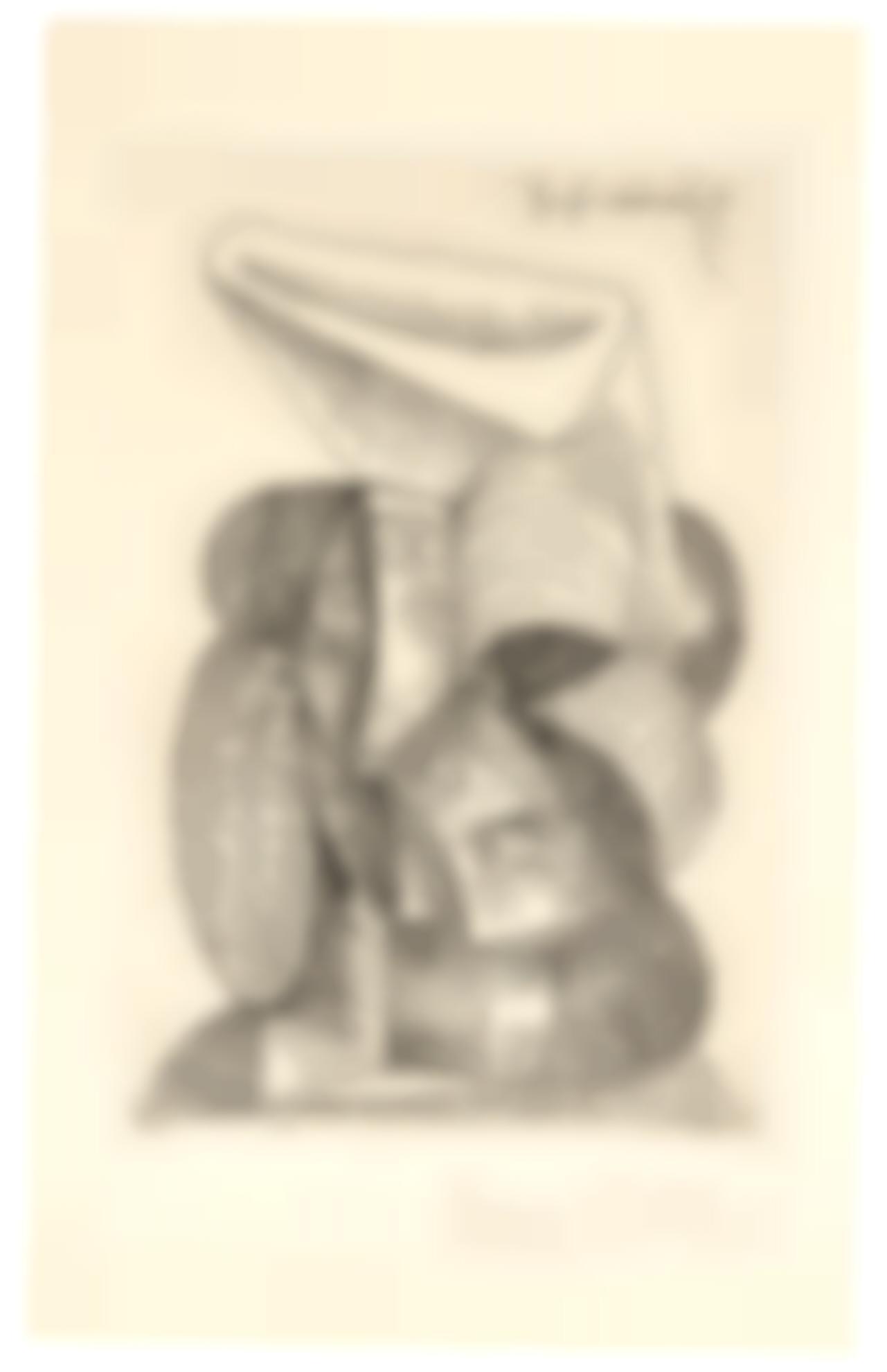 Pablo Picasso-Tete De Femme Au Chapeau (B. 374; Ba. 699; See Cramer 42)-1945