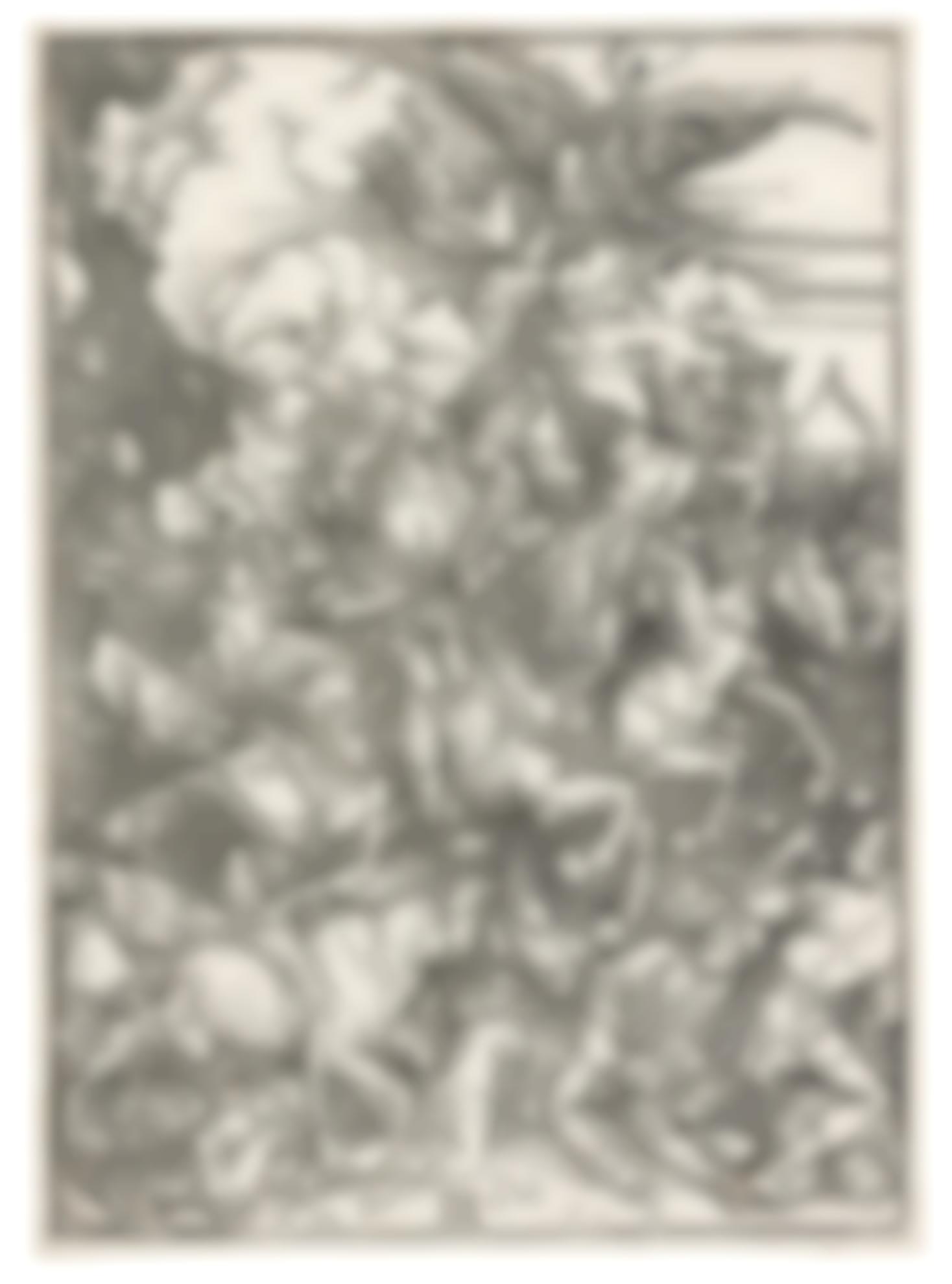 Albrecht Durer-Four Horsemen Of The Apocalypse (B. 64; M., Holl. 167)-1498