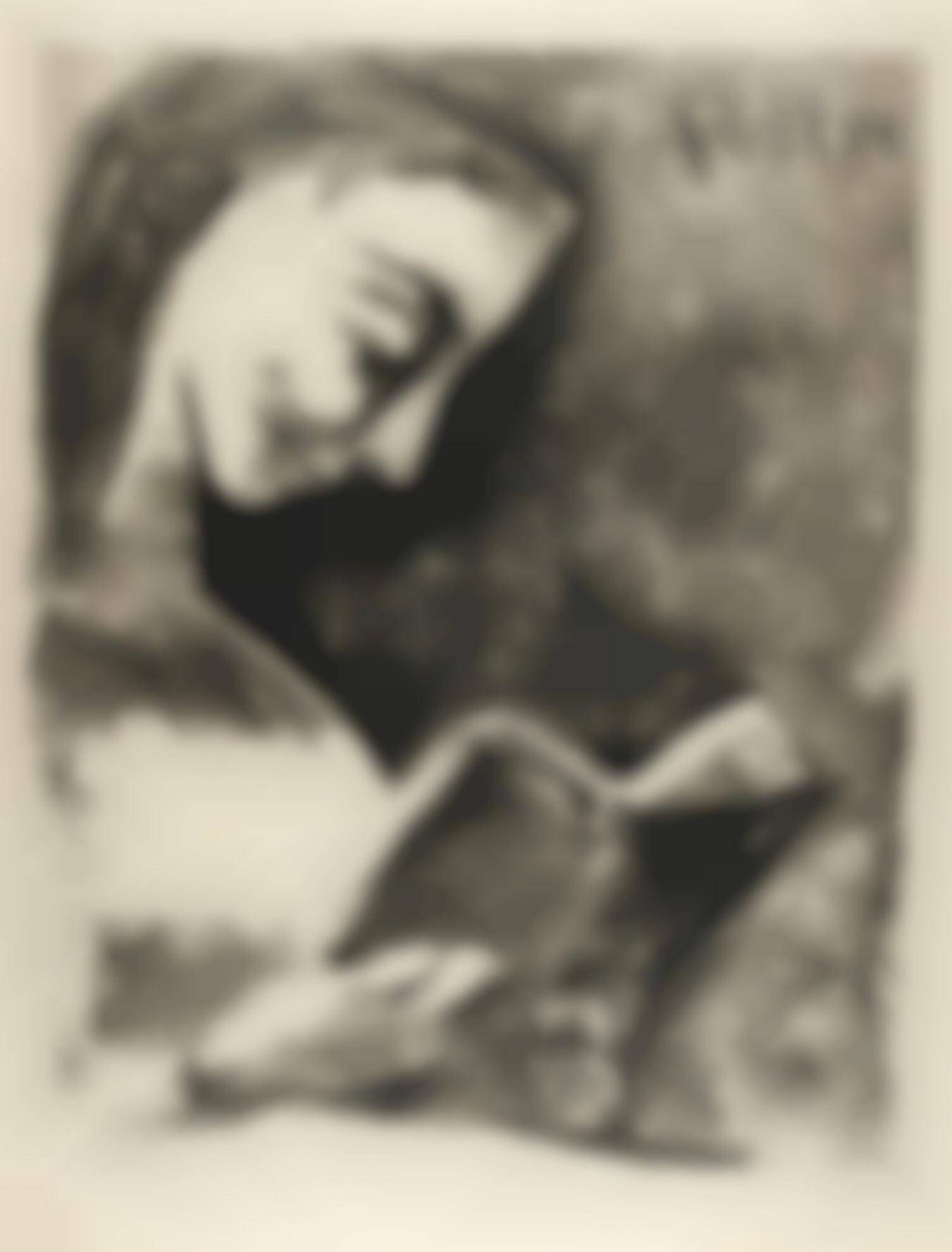 Pablo Picasso-Jacqueline Lisant (B. 851; M., Pp. 309)-1957