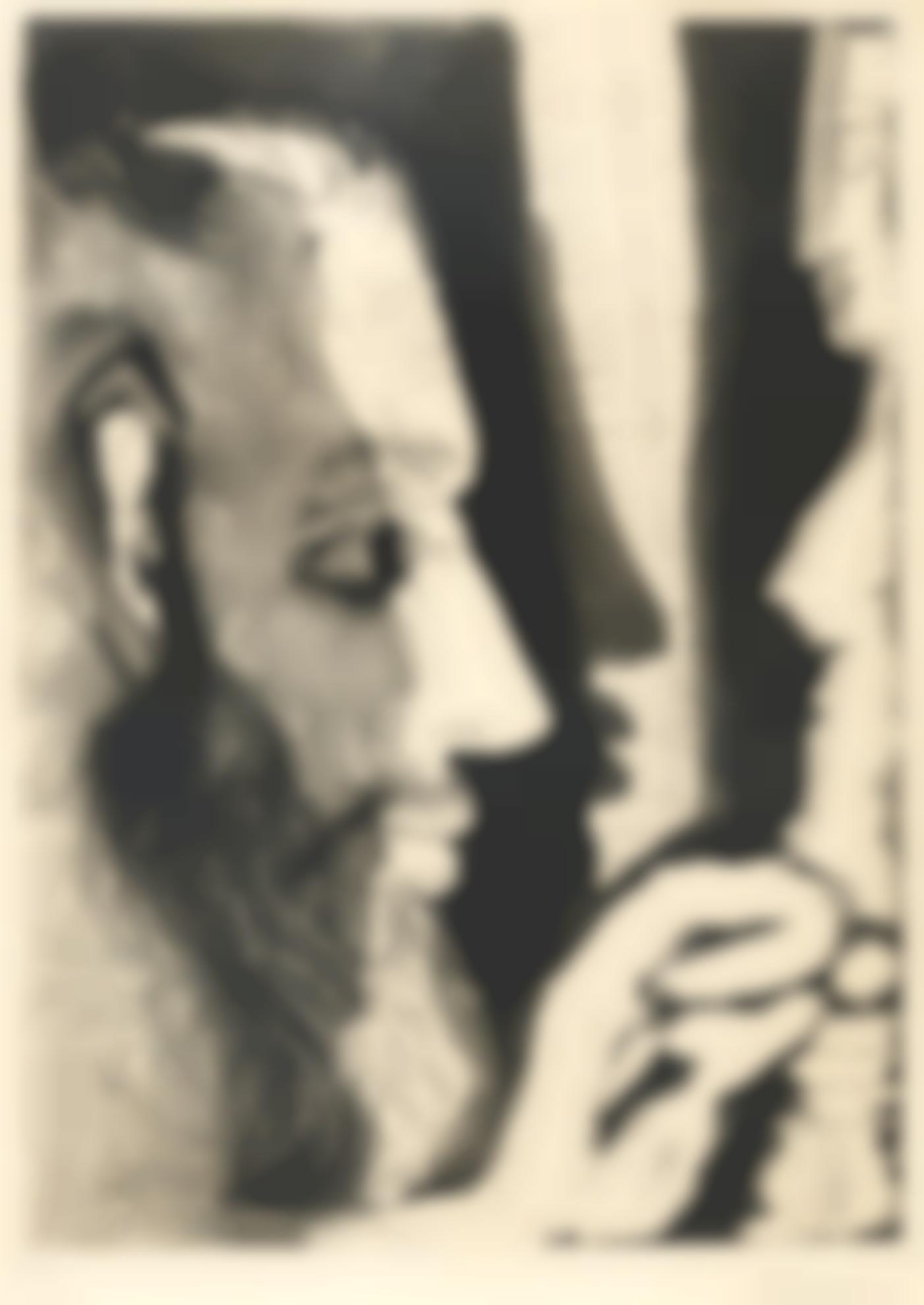 Pablo Picasso-Sculpteur Travaillant A Un Buste De Femme. I (B. 1196; Ba. 1178)-1965