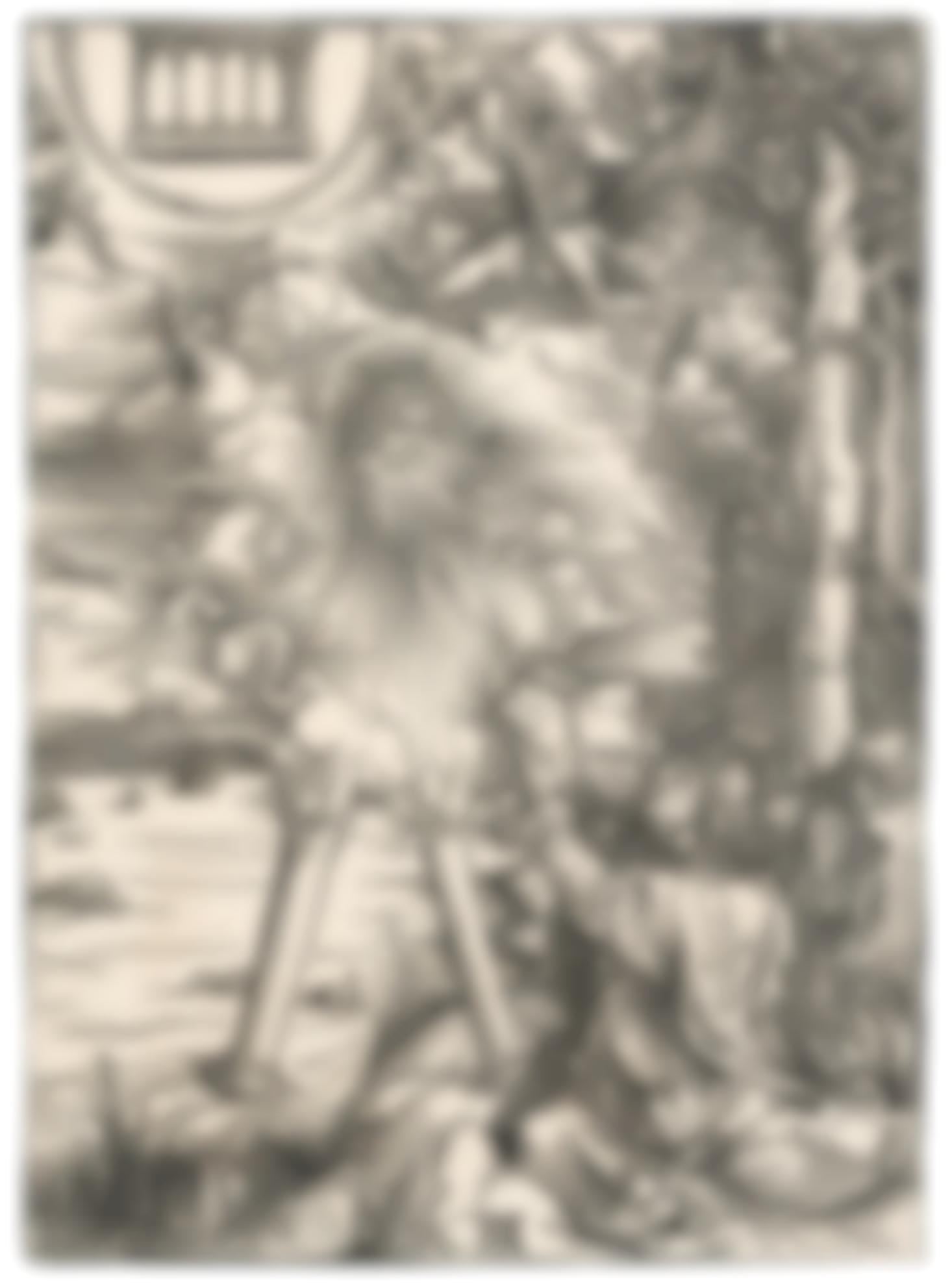 Albrecht Durer-St. John Devouring The Book; And The Torture Of St John The Evangelist (B. 70, 61; M., Holl. 172, 164)-1497