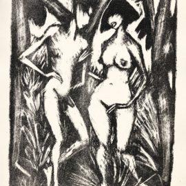 Otto Mueller-Adam Und Eva (Karsch 122)-1923