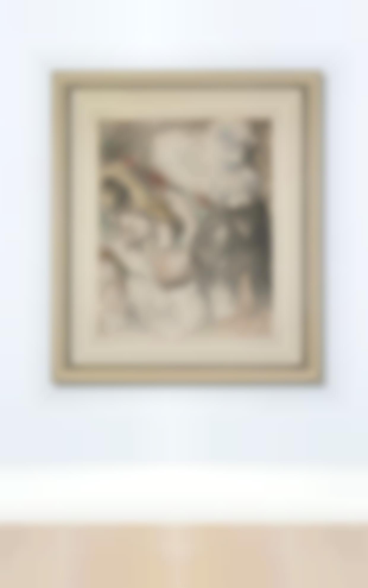 Pierre-Auguste Renoir-Le Chapeau Epingle, Deuxieme Planche (Delteil, Stella 30)-1898