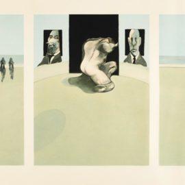 Francis Bacon-Triptych (Sabatier 4)-1981