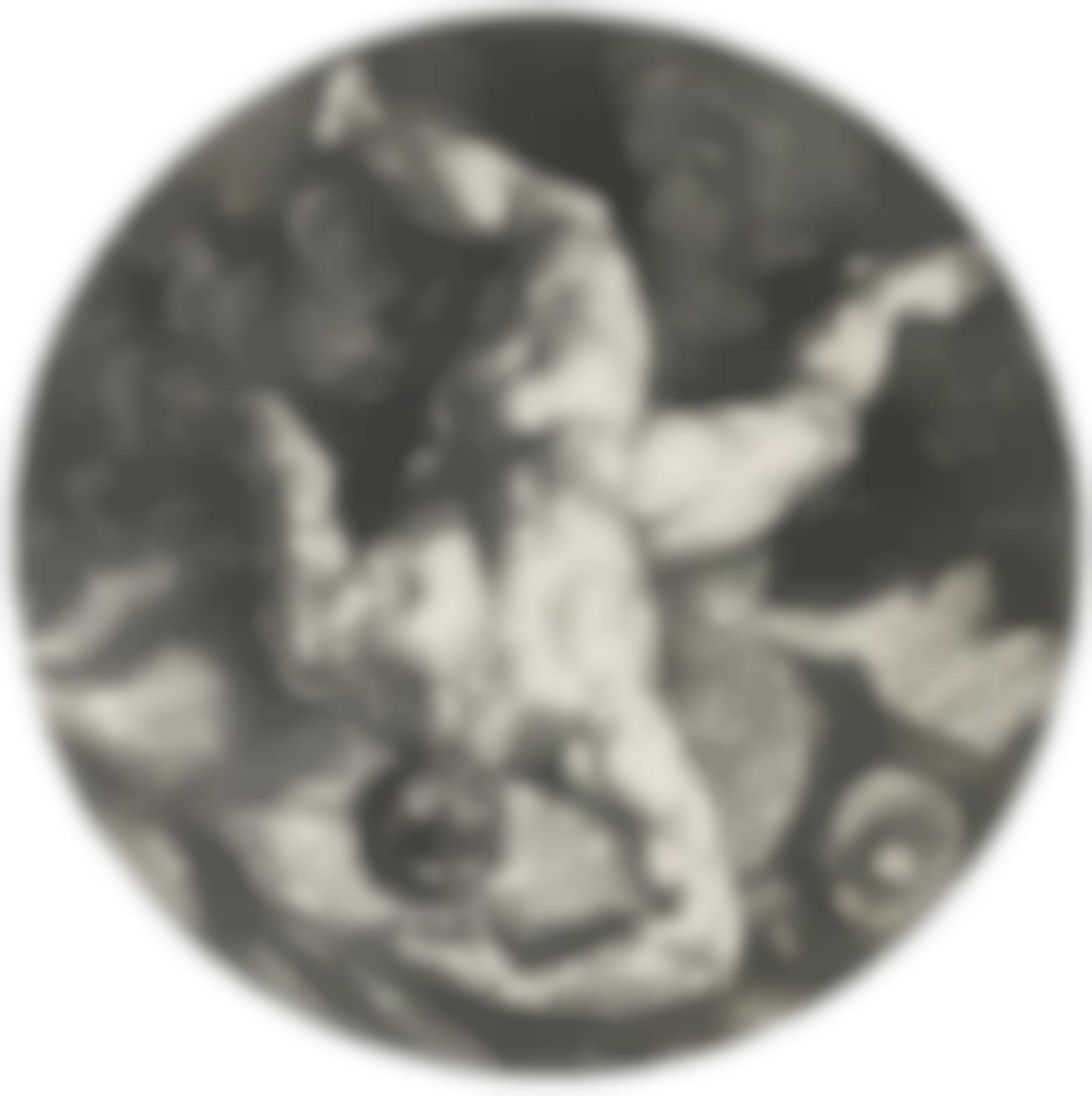Hendrick Goltzius-Tantalus; Icarus; And Ixion (Bartsch 258, 259, 261; Hollstein 306, 307, 309; Strauss 257, 258, 260)-1588