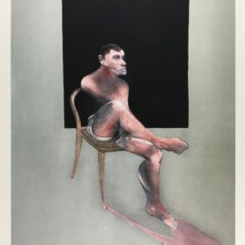 Francis Bacon-After Francis Bacon - Portrait Of John Edwards (Not In S.)-2002