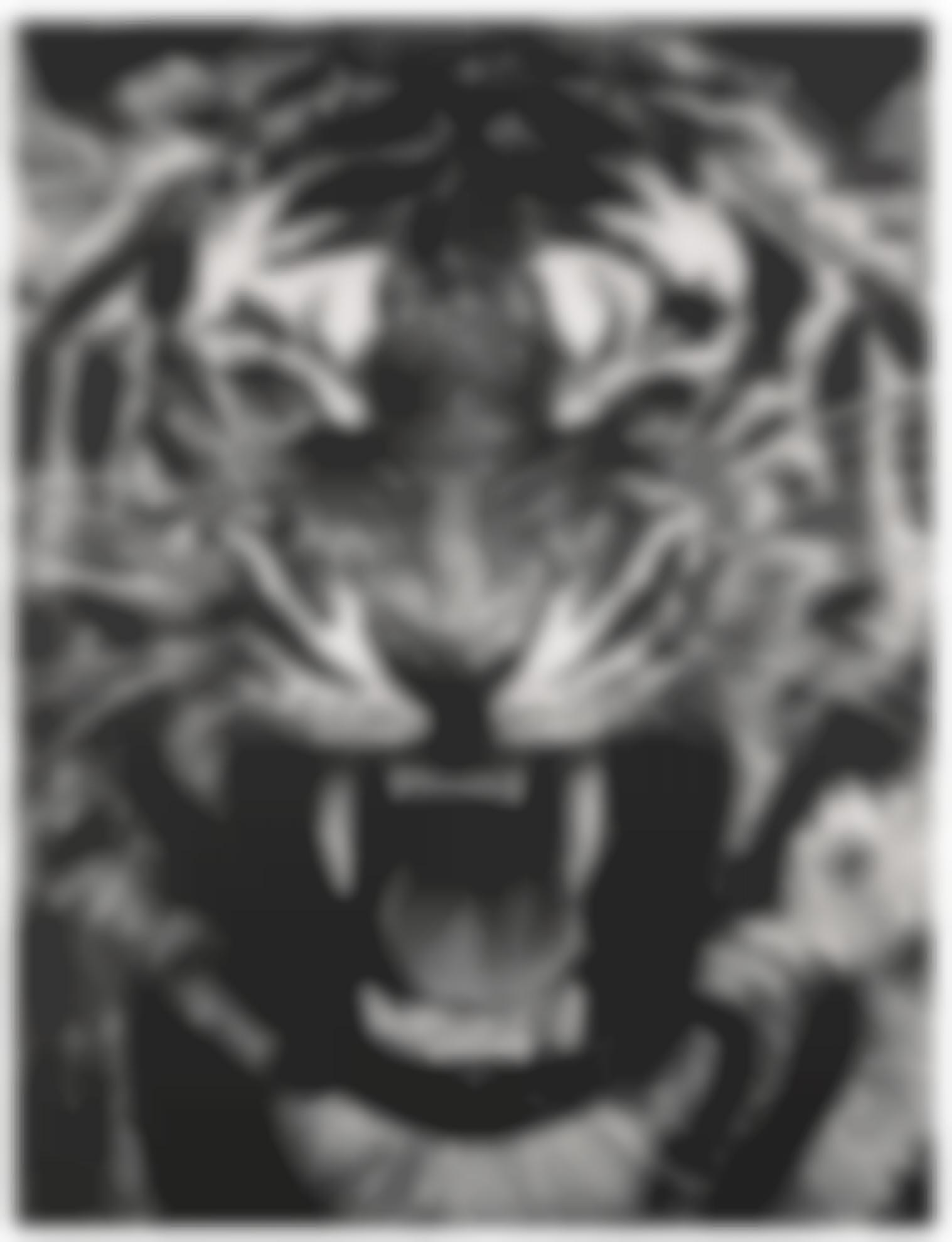 Robert Longo-Untitled (Roaring Tiger)-2015