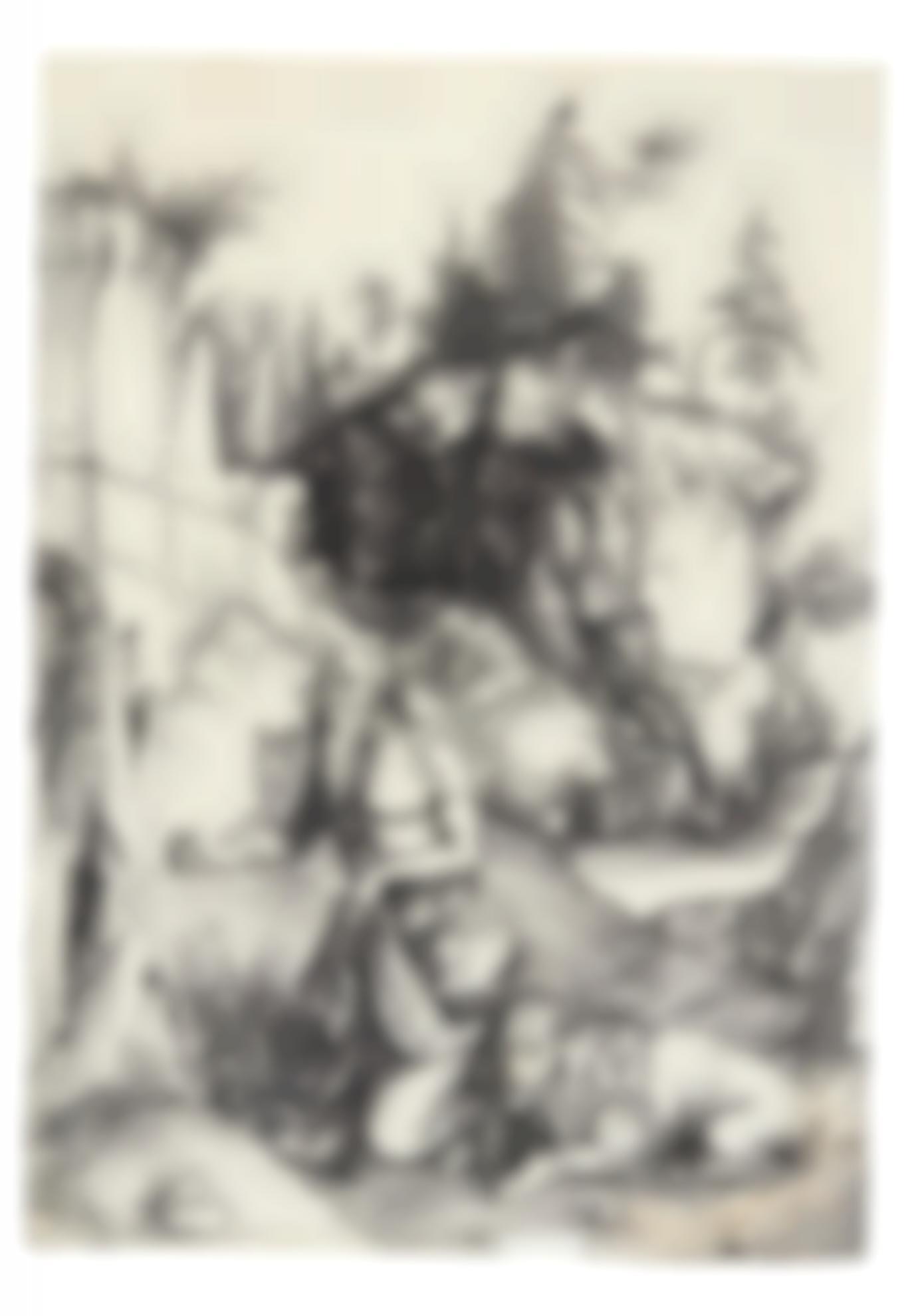 Albrecht Durer-St. Jerome Penitent In The Wilderness (B. 61; M., Holl. 57)-1496