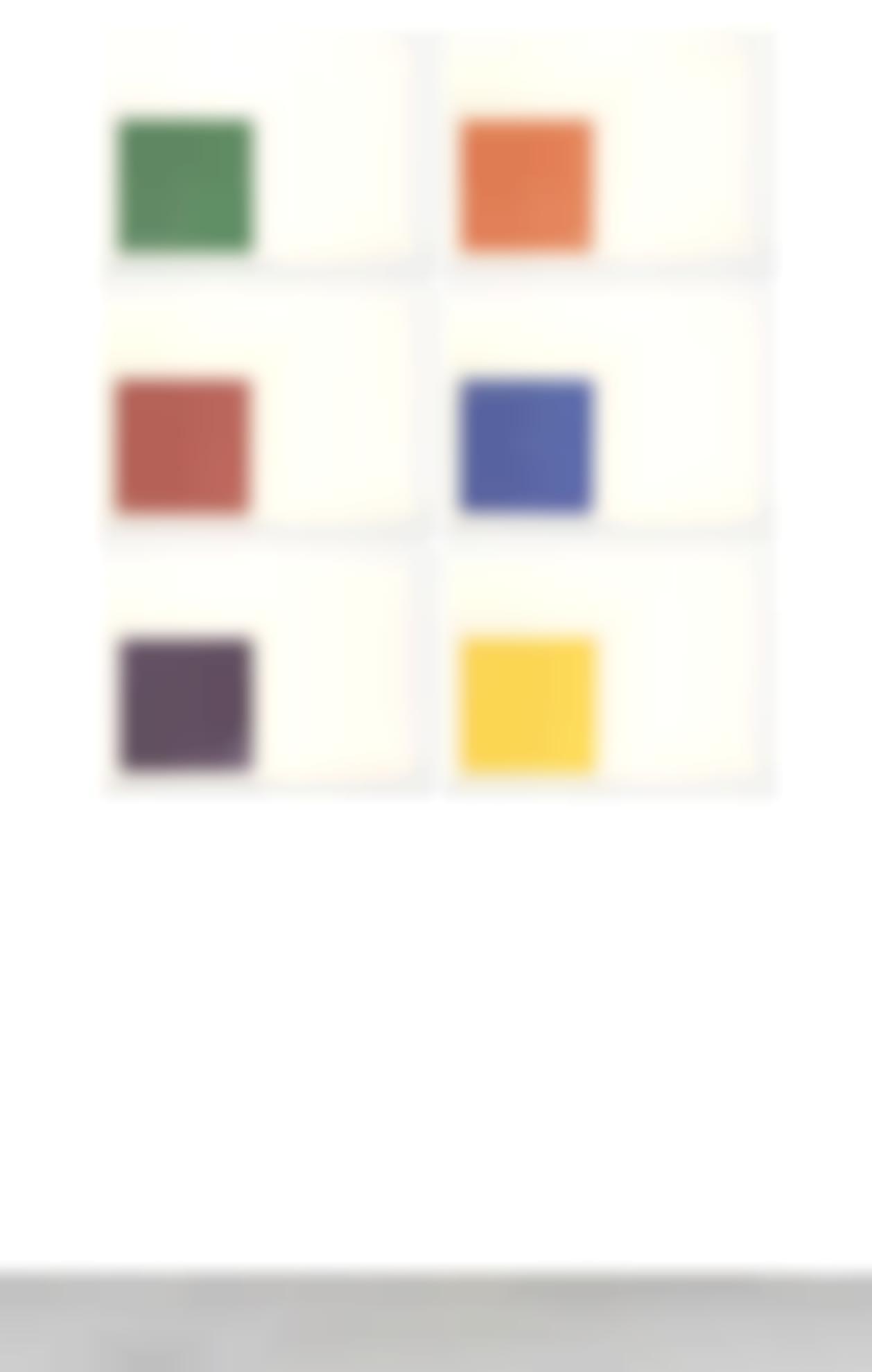 Frank Stella-Benjamin Moore Series (Axsom 57-62)-1971