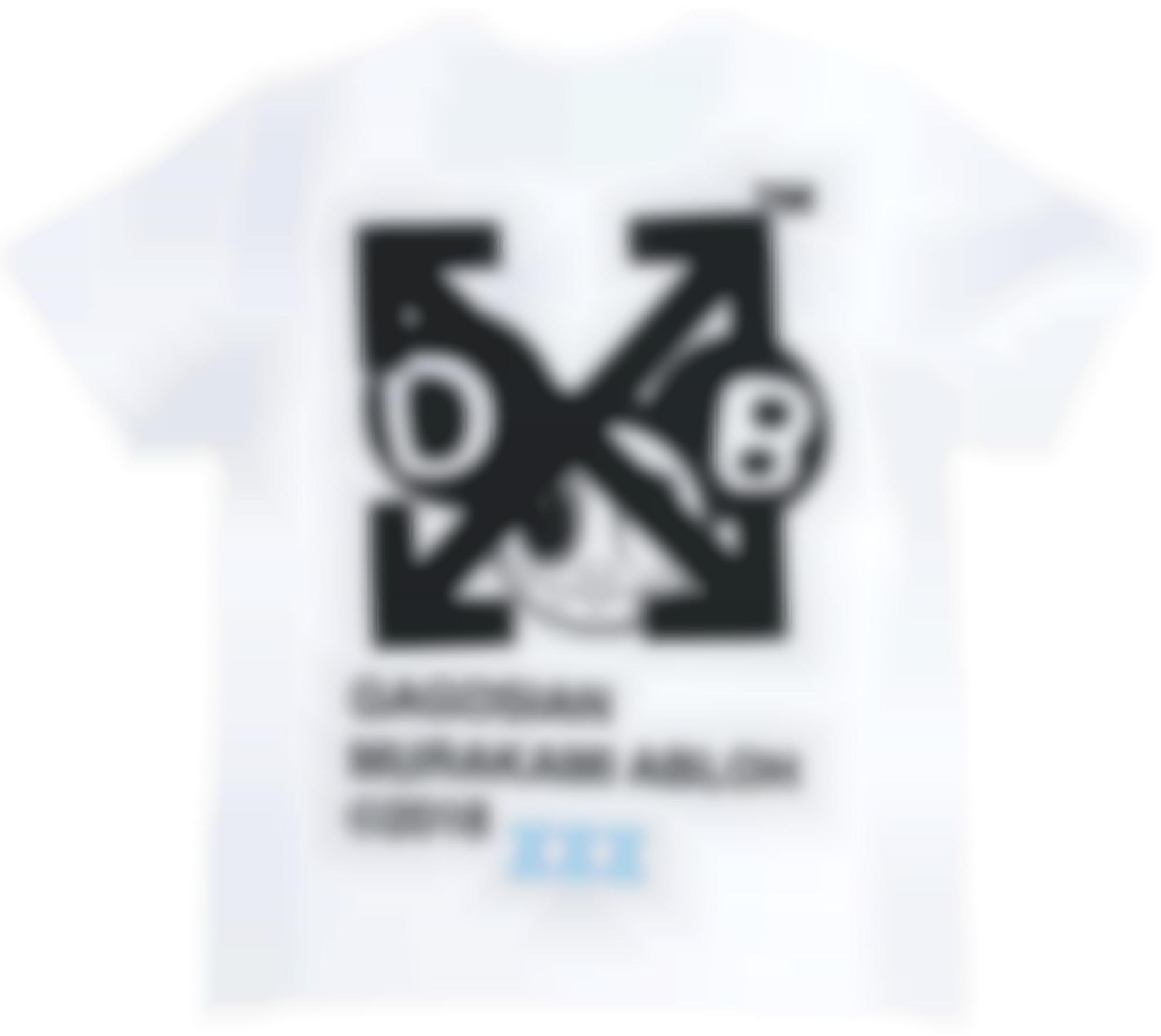 Takashi Murakami-Future History T-Shirt (Off-White X Takashi Murakami)-