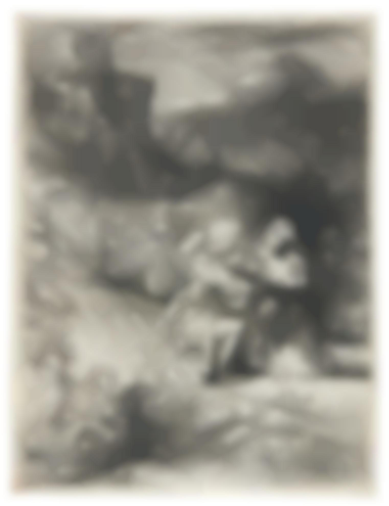 Rembrandt van Rijn-The Agony In The Garden (B., Holl. 75; New Holl. 269; H. 293)-1657