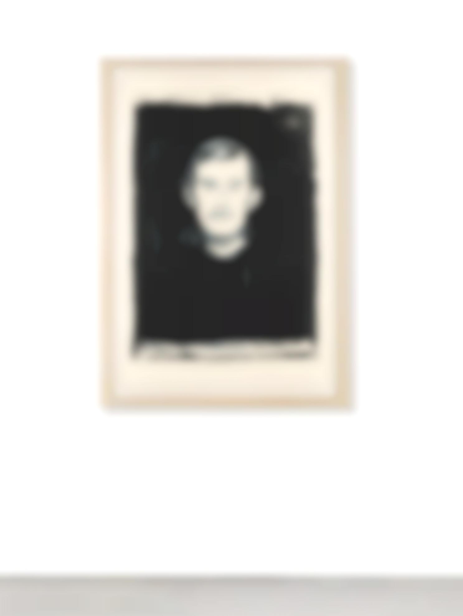Andy Warhol-Self-Portrait With Skeletons Arm (After Munch) (F. & S. IIIa.61[B])-1984