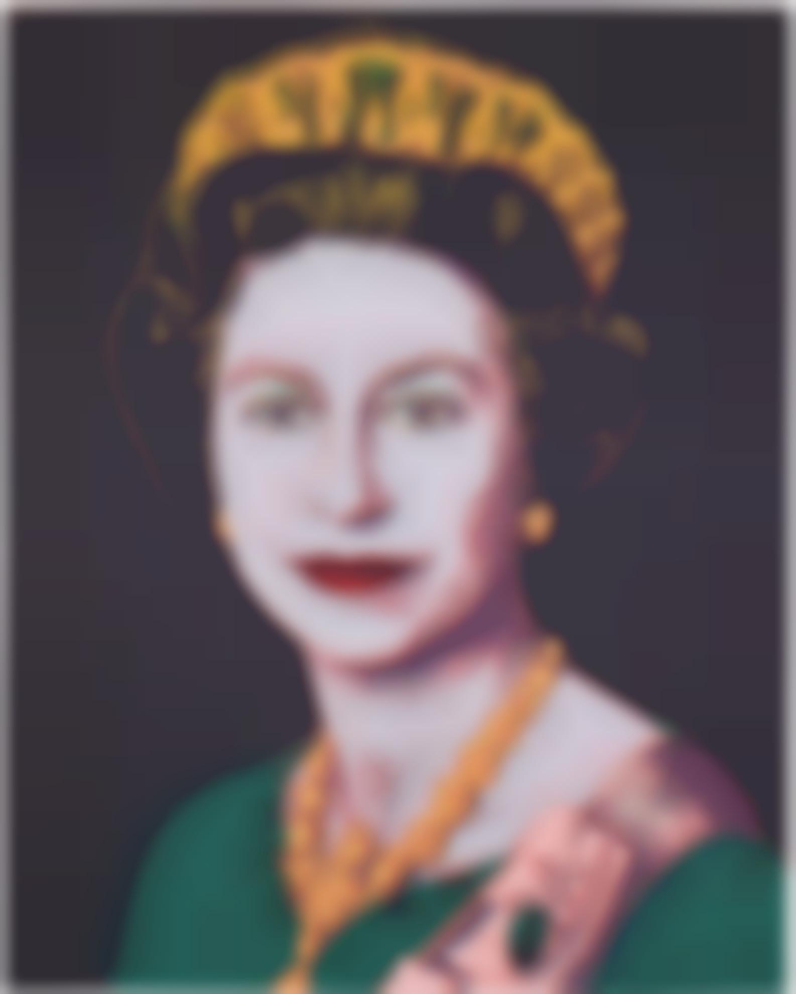 Andy Warhol-Queen Elizabeth II (See F. & S. IIb.334-337)-1985